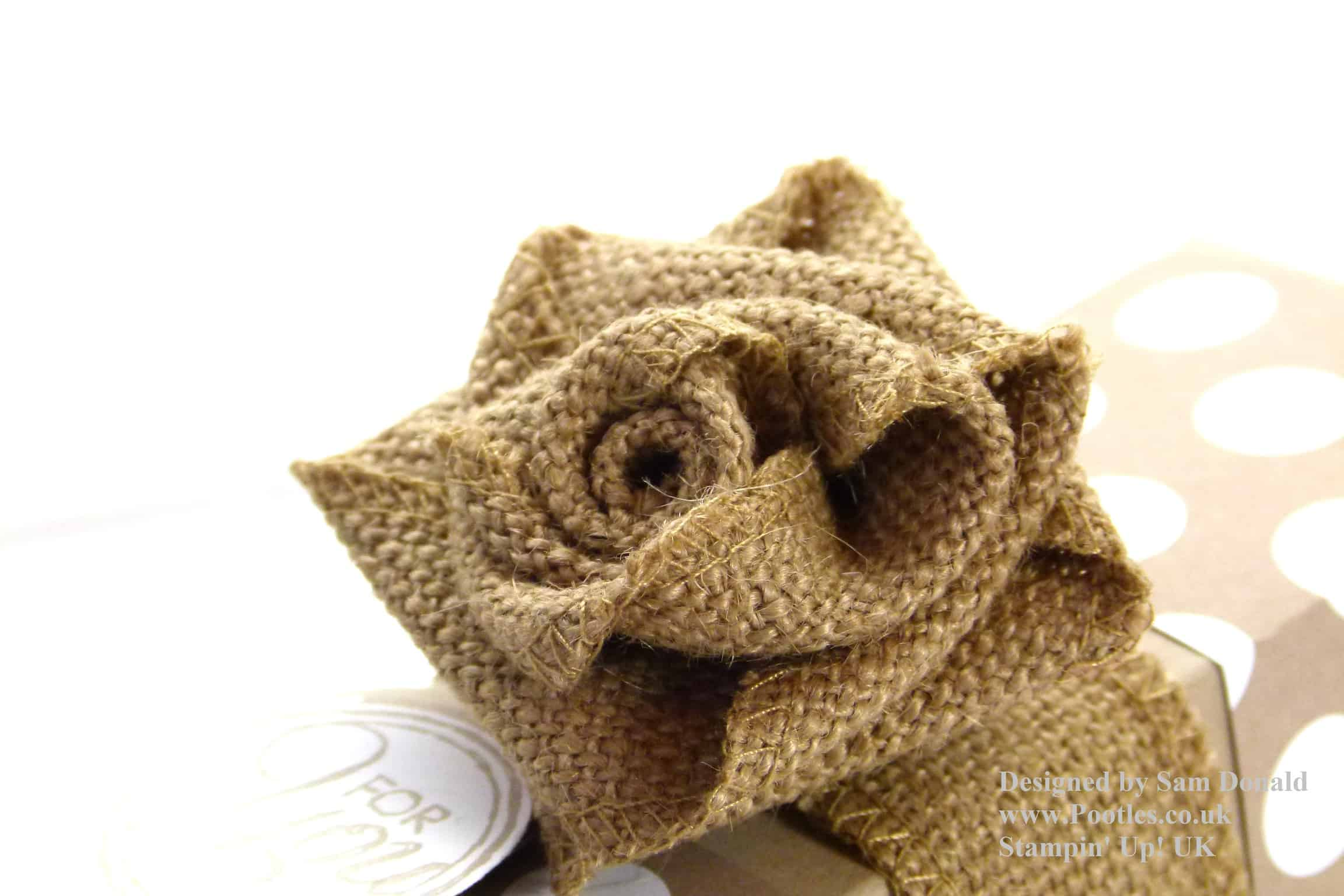 September 2013 Ribbon Rose Tutorial