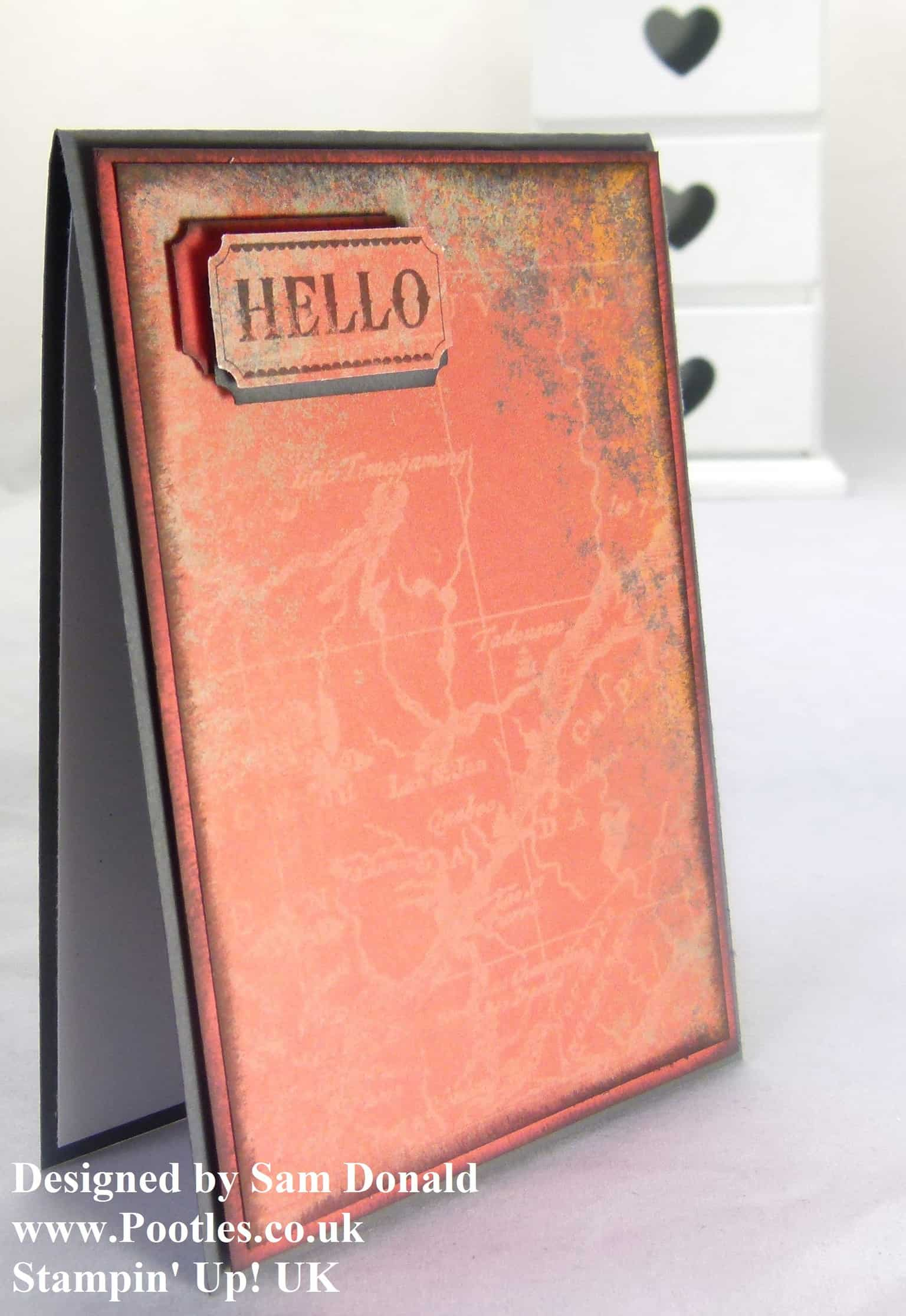 Pootles Stampin Up This n That Hello Card 2