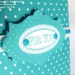 POOTLES Stampin' Up! UK Bermuda Bay Layered Labels