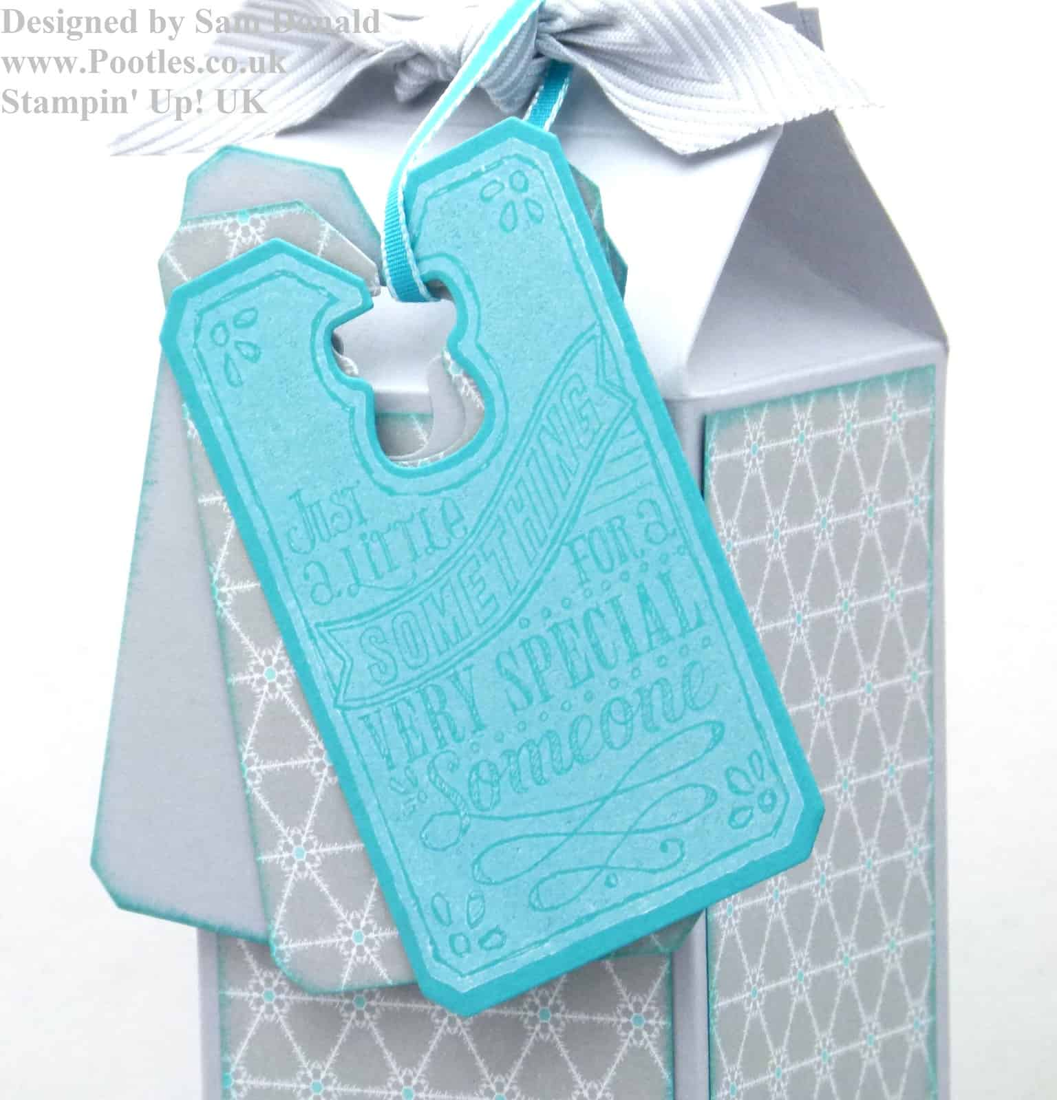 Pootles Stampin Up UK Champagne Box 4
