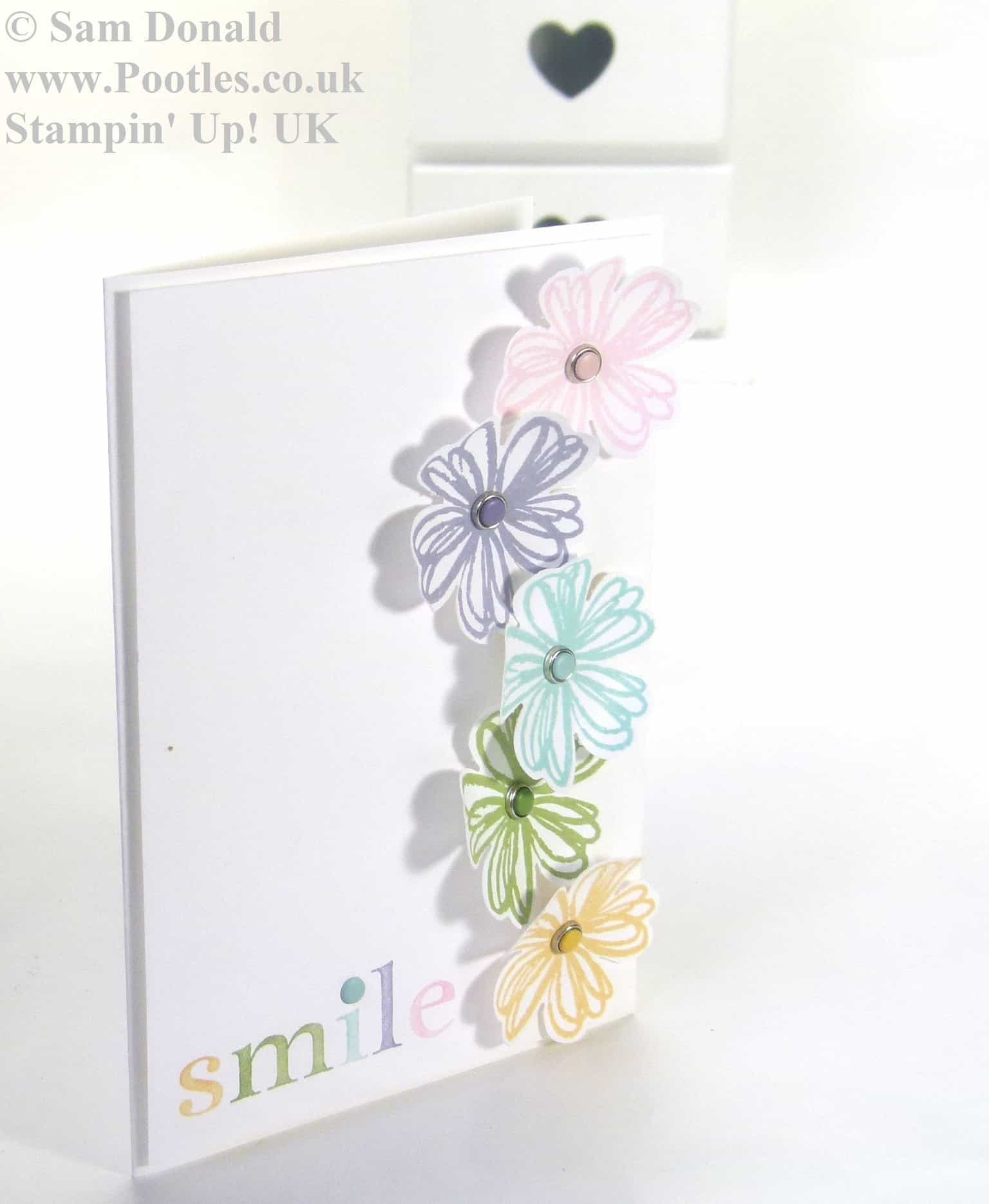 POOTLES Stampin Up UK Subtle Smile 3