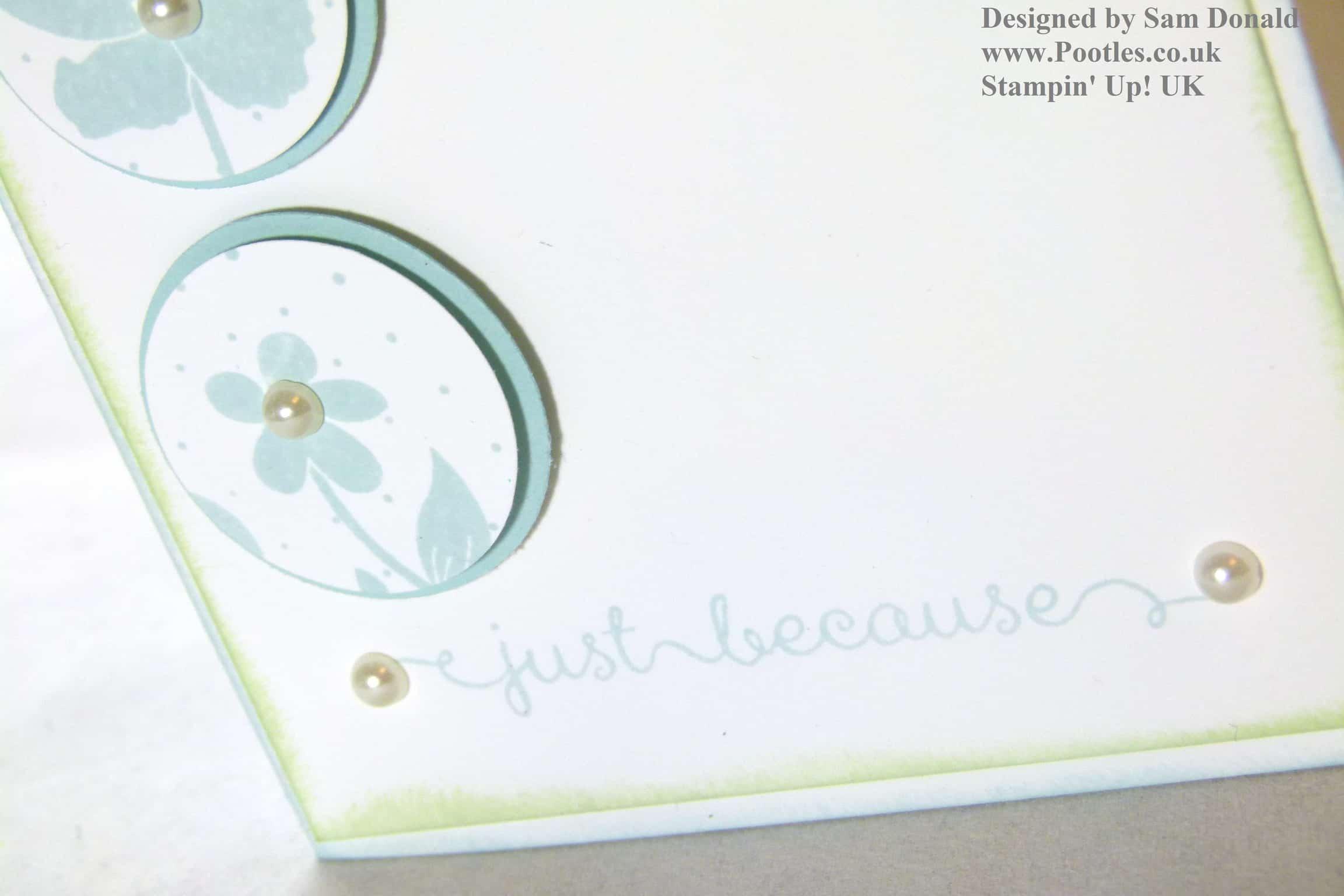 Pootles Stampin Up UK Wildflower Meadow Elemental Card
