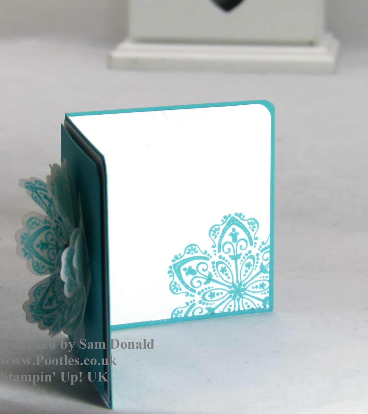 Pootles Stampin Up Vellum showcase 2
