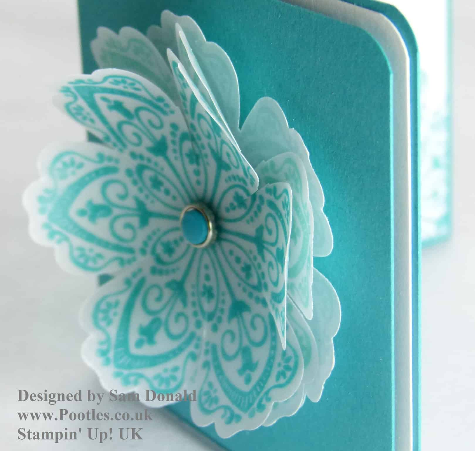 Pootles Stampin Up Vellum showcase