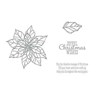 Joyful Christmas Stamp Brush Set