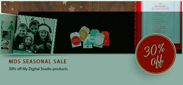 MDS Digital Download Day 29/10/13 AND sale!!