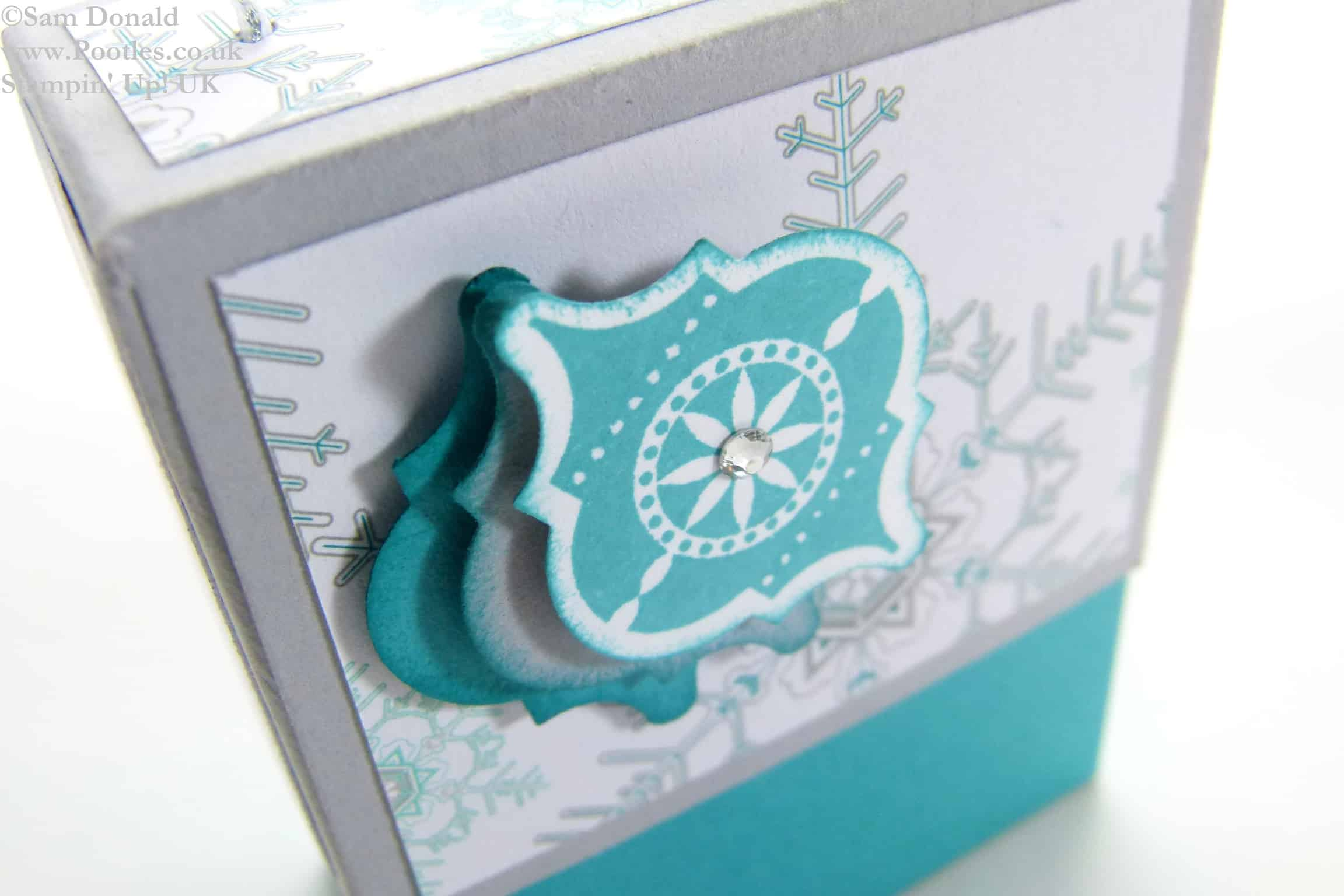 POOTLES Stampin Up ADVENT COUNTDOWN 10 Nail Polish Gift Box 2