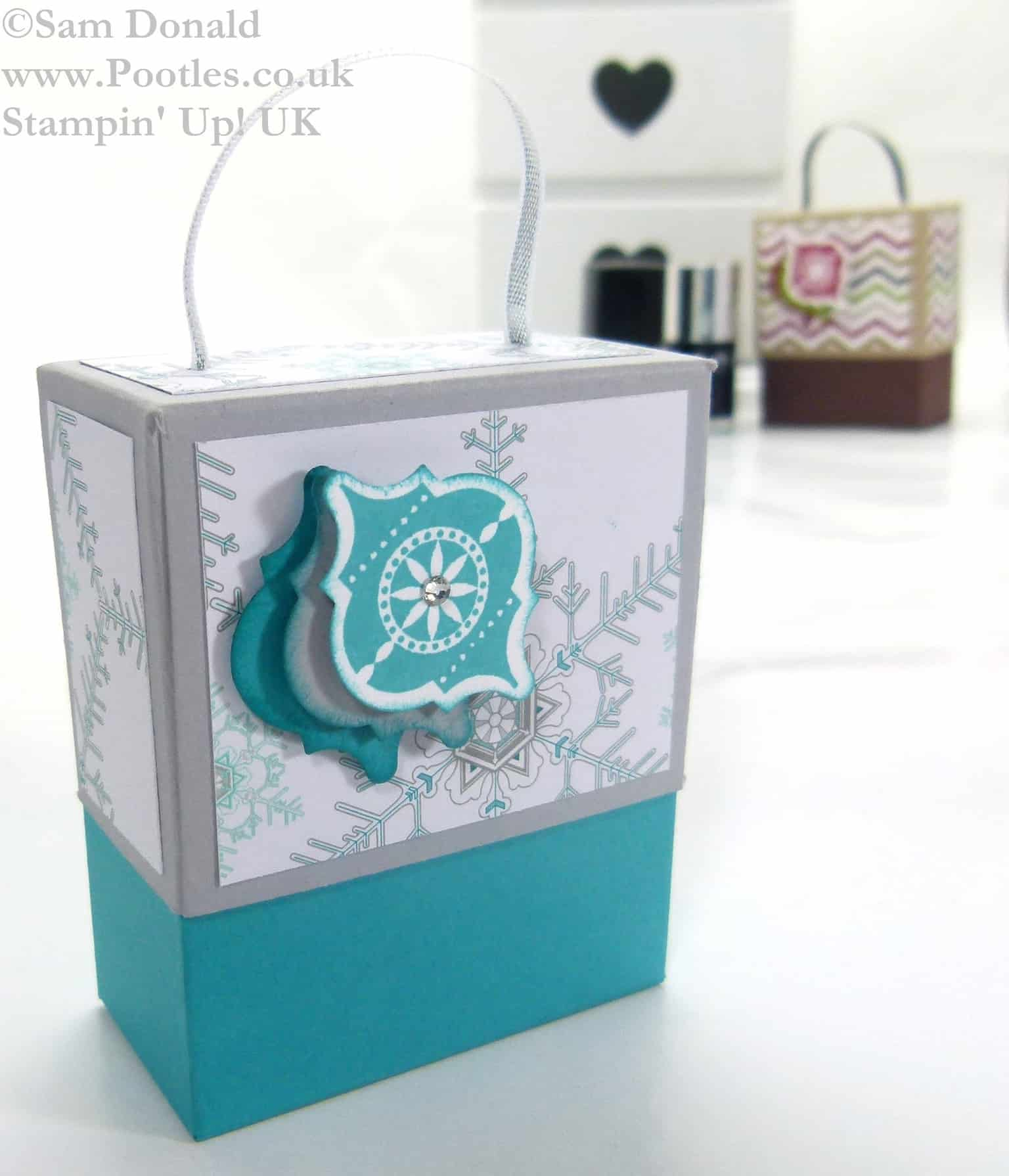 November 2013 Nail Polish Gift Box Tutorial