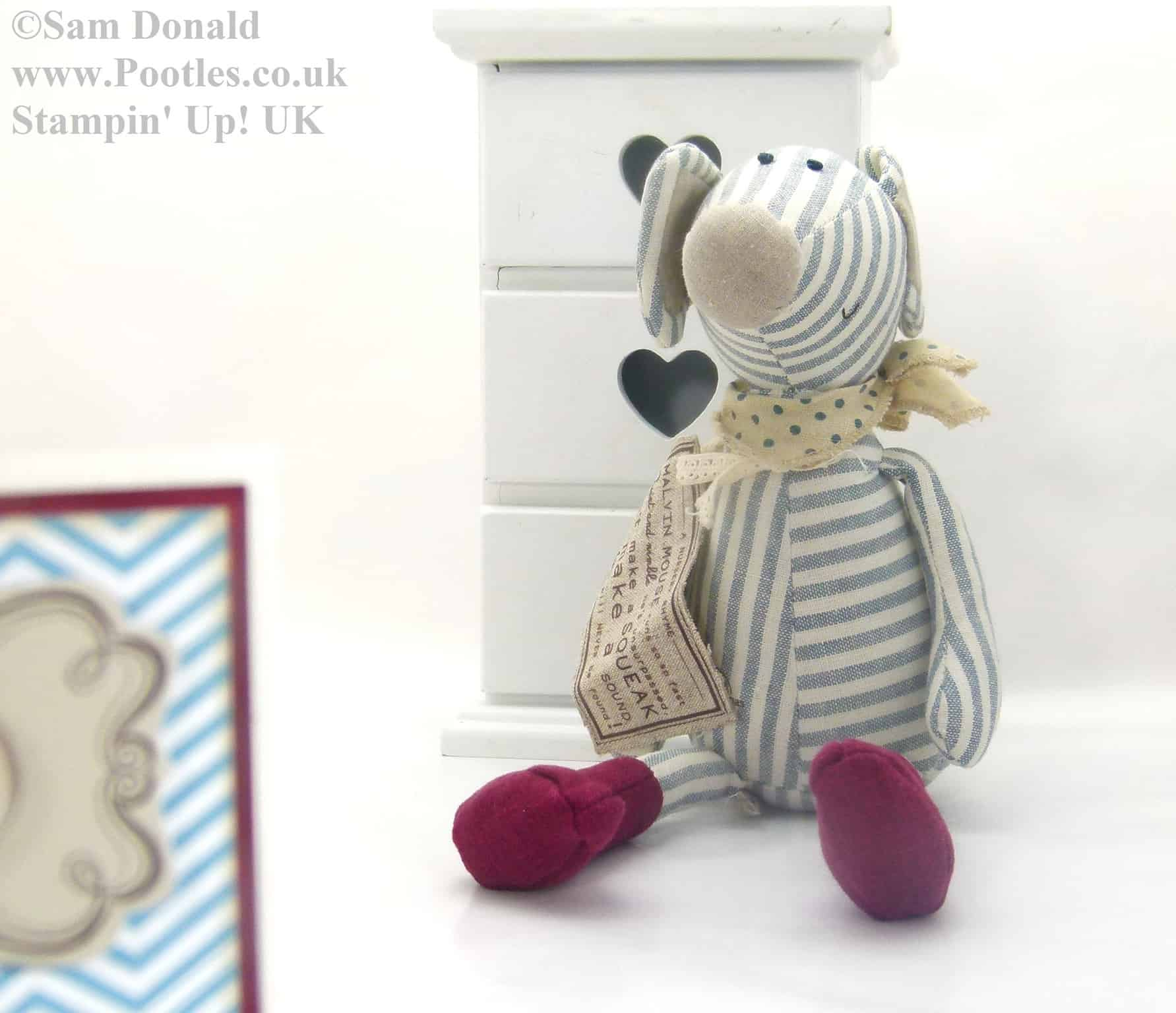 POOTLES Stampin Up UK A Mouse Inspired For You 3
