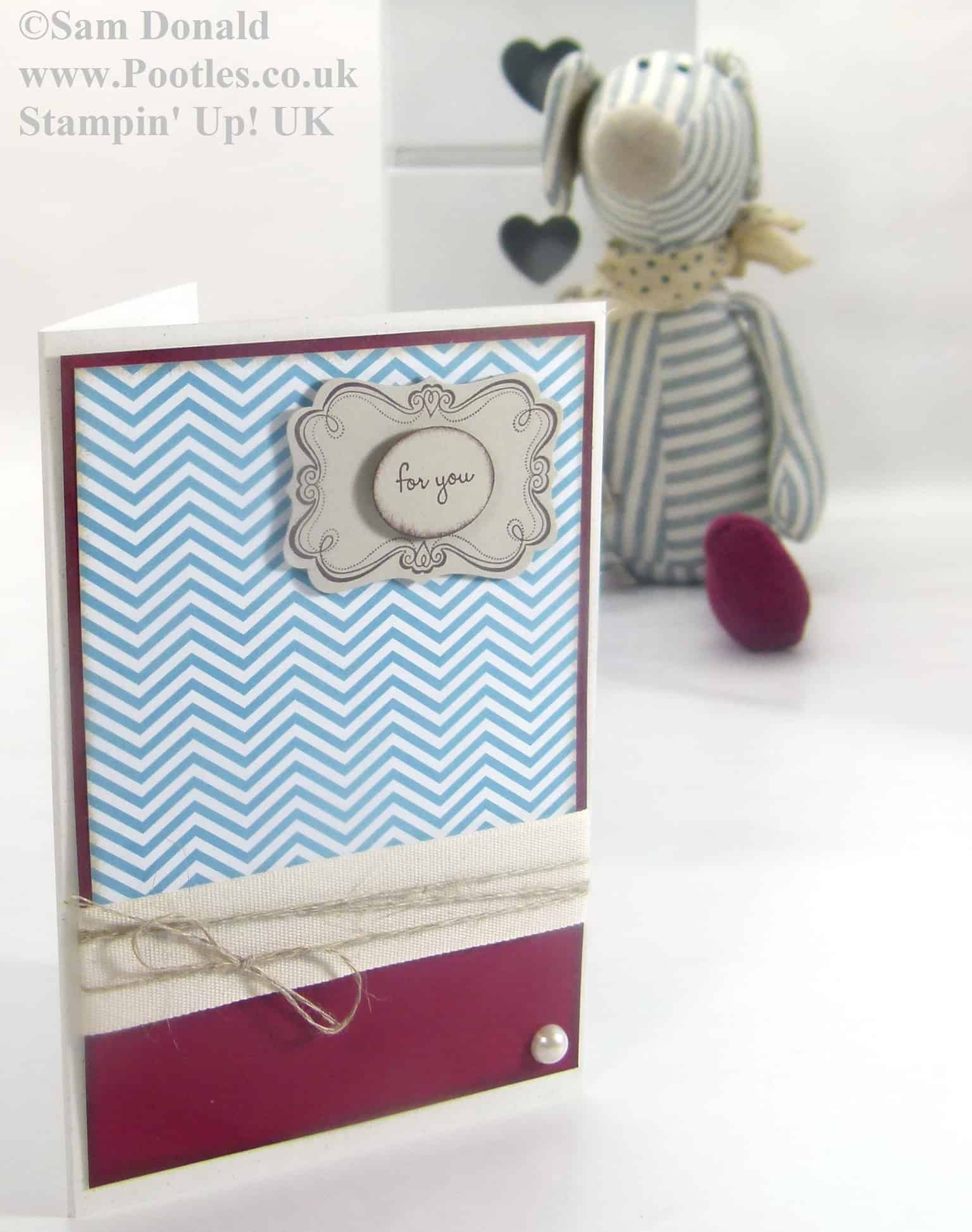 POOTLES Stampin Up UK A Mouse Inspired For You 4