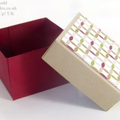 ADVENT COUNTDOWN 5 Lidded Box VIDEO