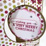 Advent Countdown 8 Thinlits Christmas Card