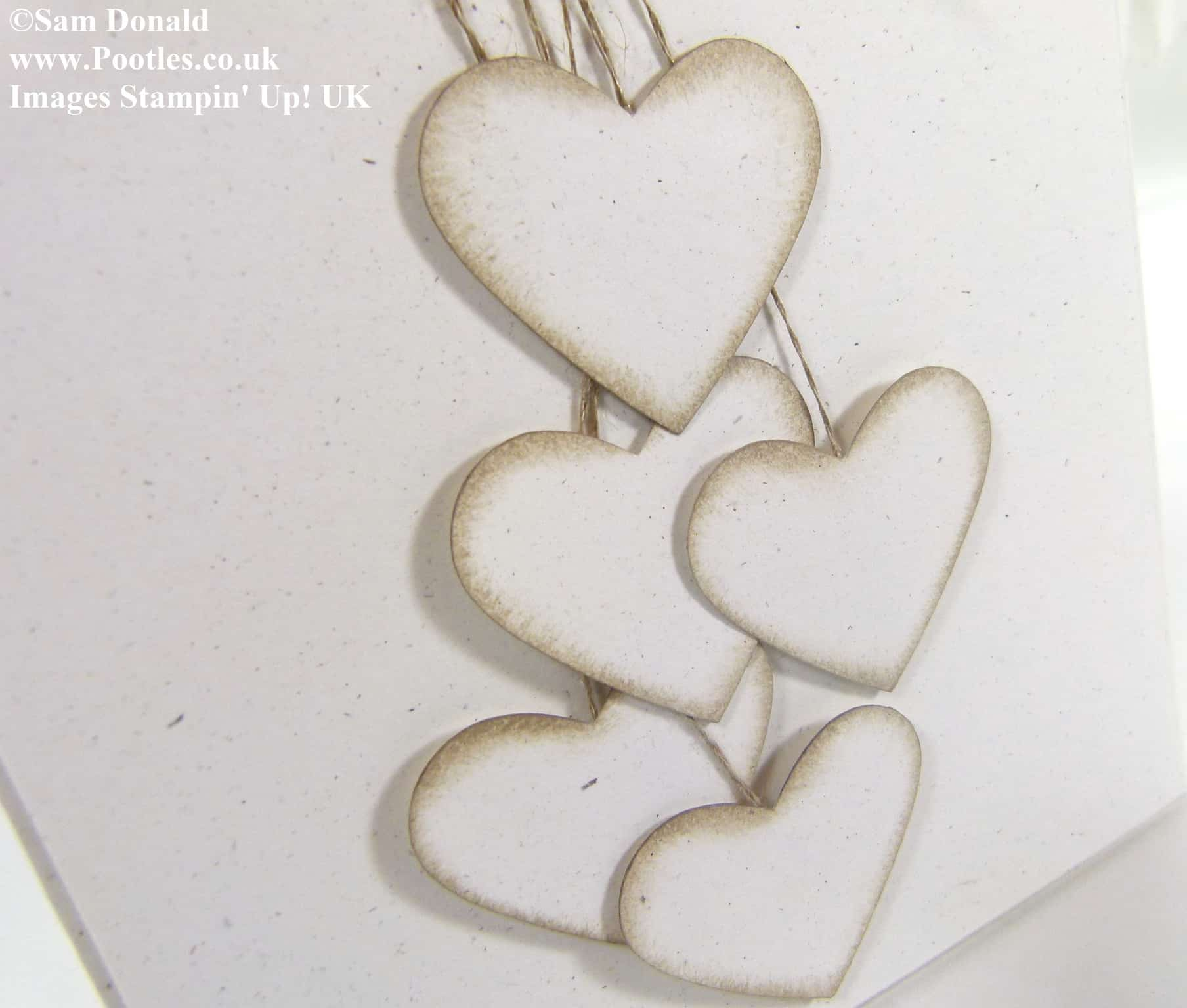 POOTLES Stampin Up UK Extra Large Inspired Hearts 2