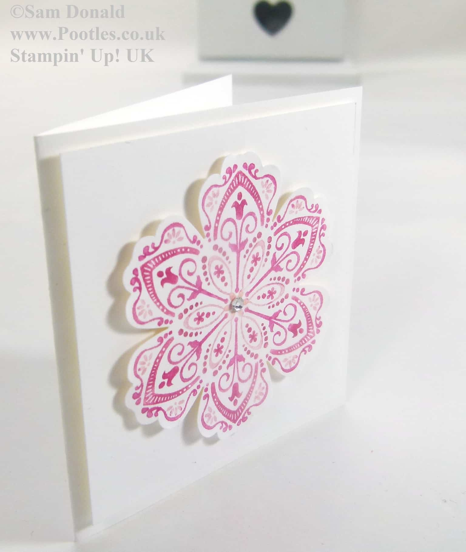 POOTLES Stampin Up UK Multicoloured Mixed Bunch 2