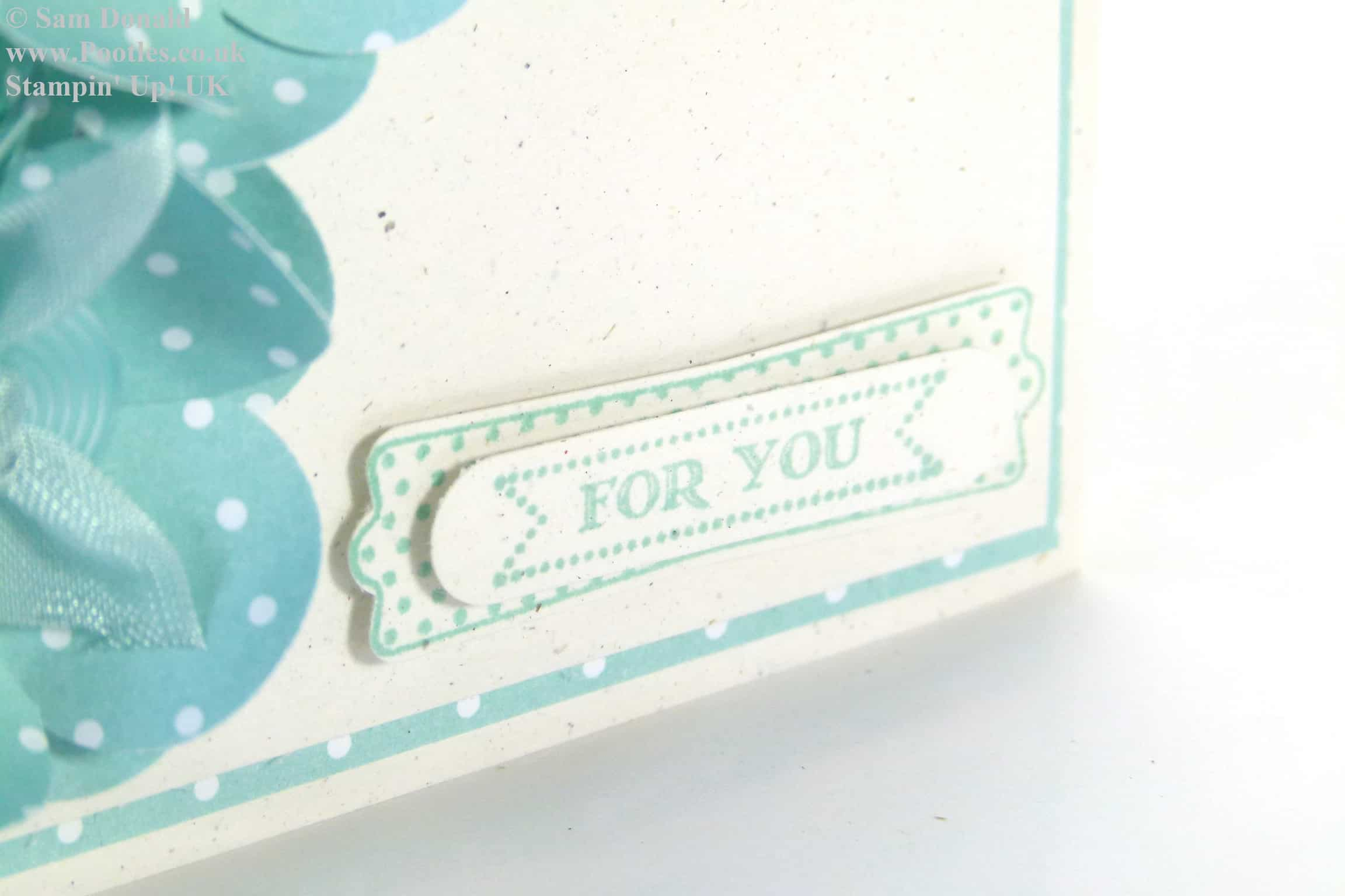 POOTLES Stampin' Up! UK Pool Party Flowers For You