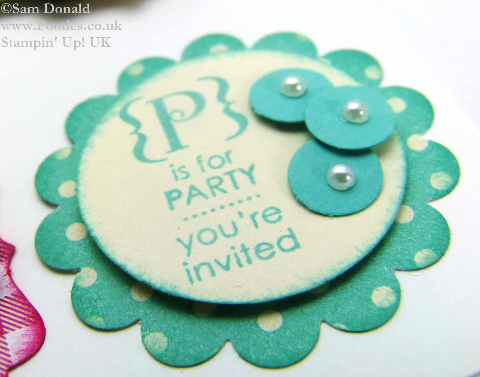 Stampin' Up! UK Convention Card Candy Swaps & Video
