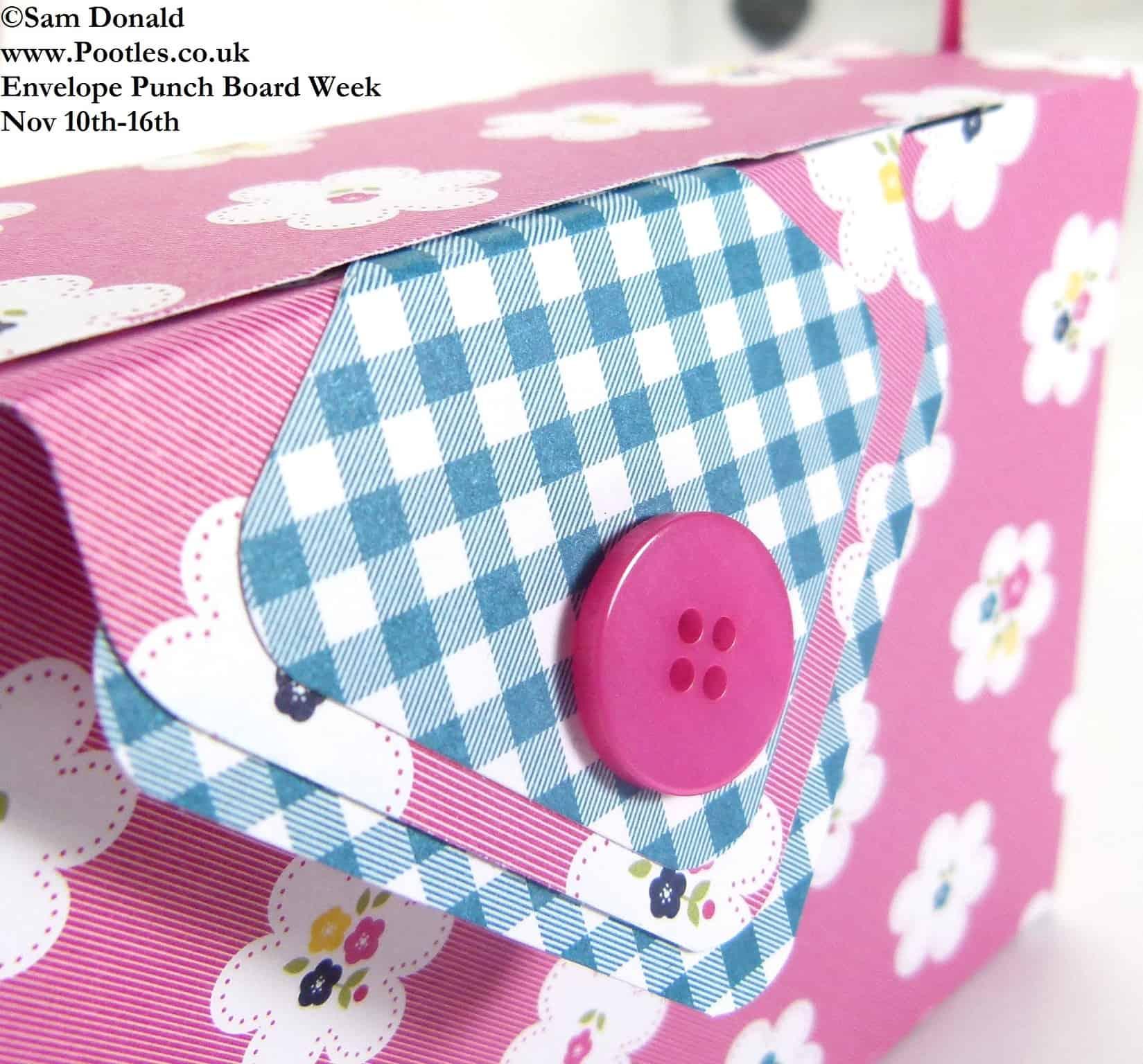 Envelope Punch Board Week – The Clutch Bag