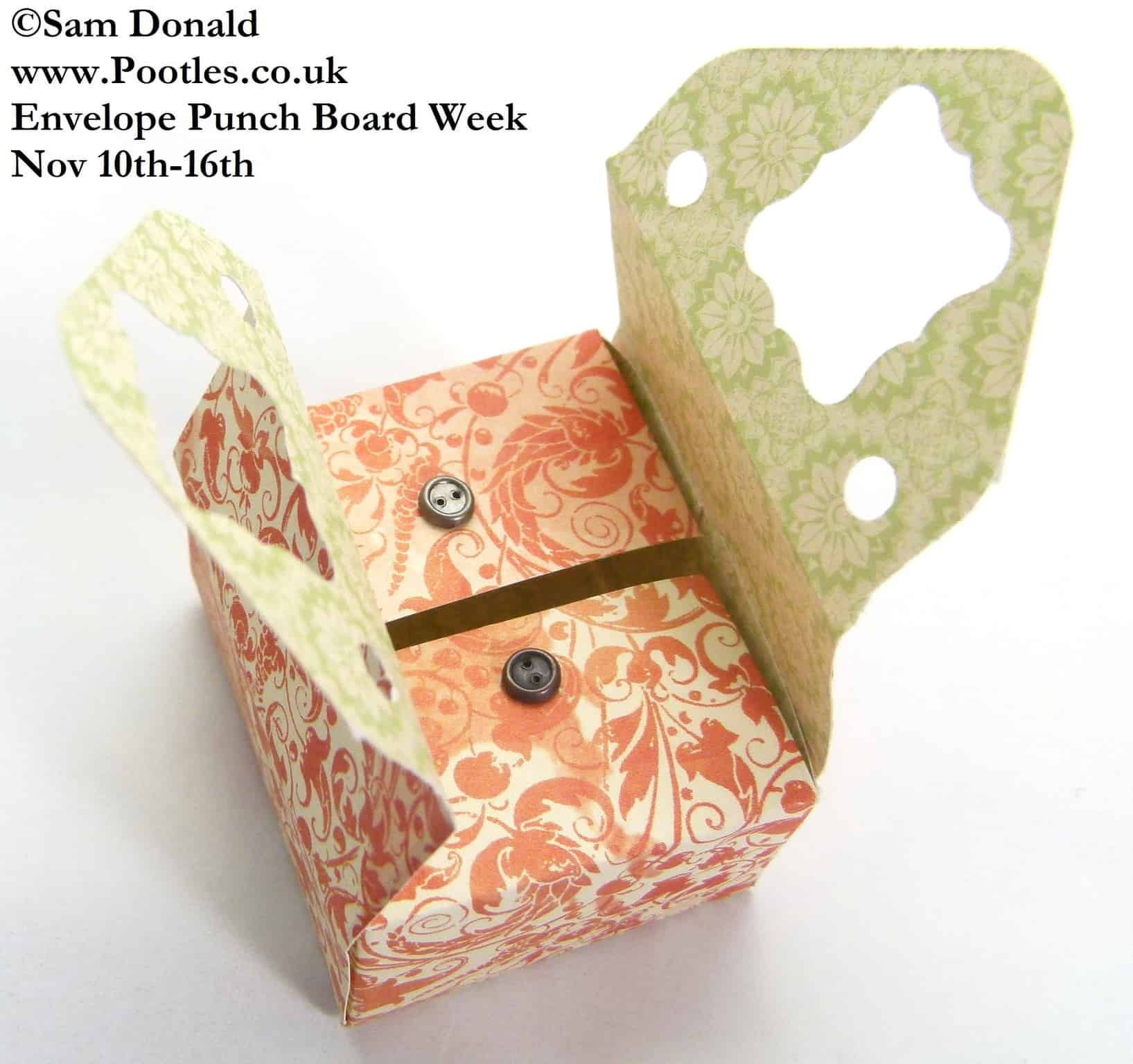 Envelope Punch Board Week – Sewing Style Box