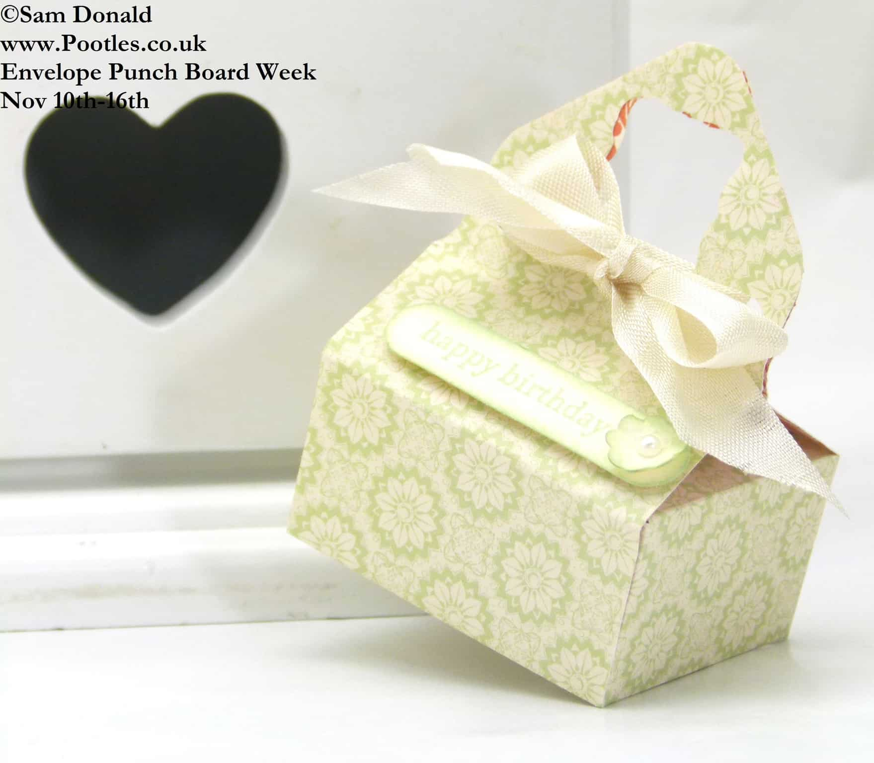 POOTLES Stampin Up ENVELOPE PUNCH BOARD WEEK The Sewing Style Box 3