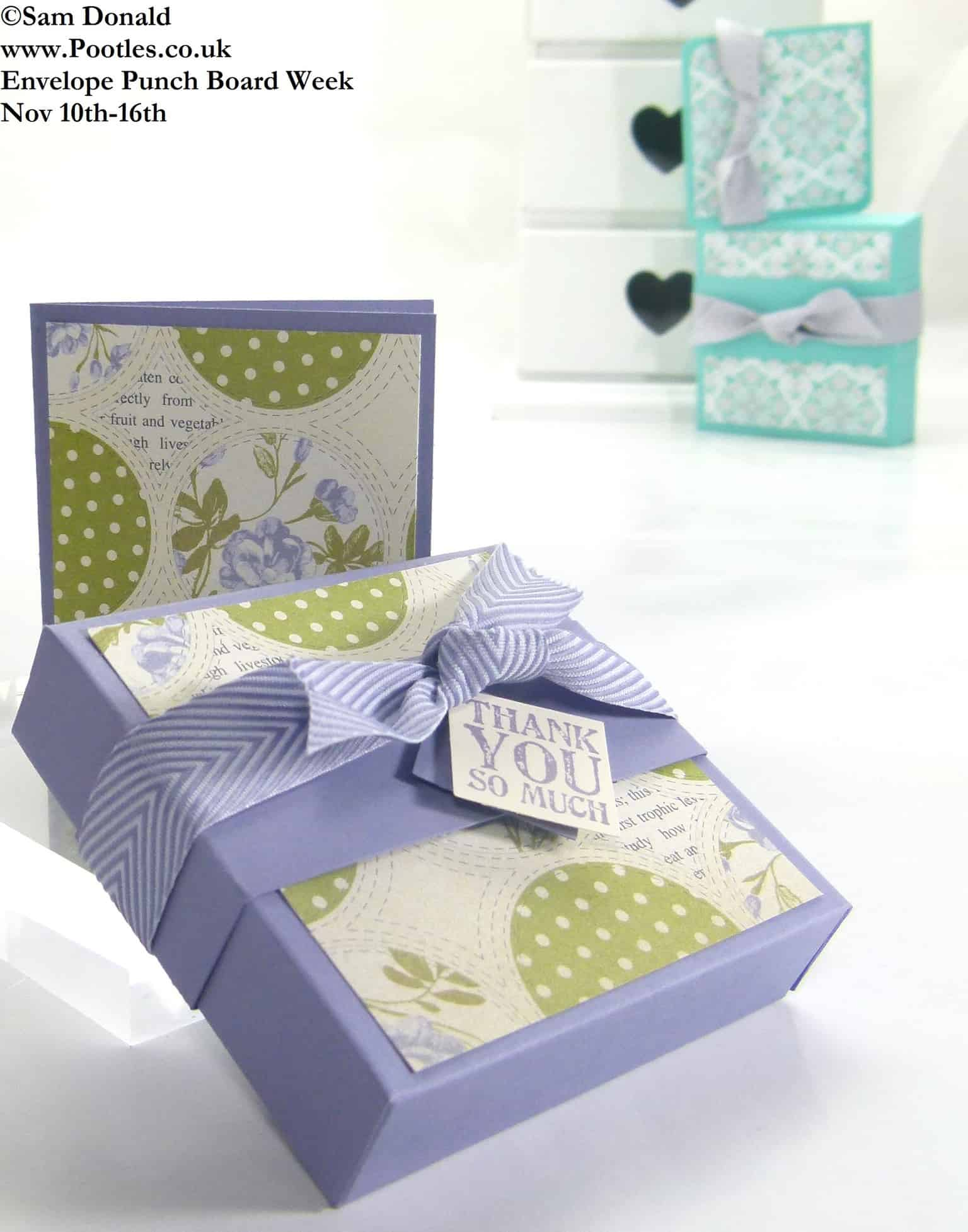 POOTLES Stampin Up ENVELOPE PUNCH BOARD WEEK The Soap Gift Box 3 (1)