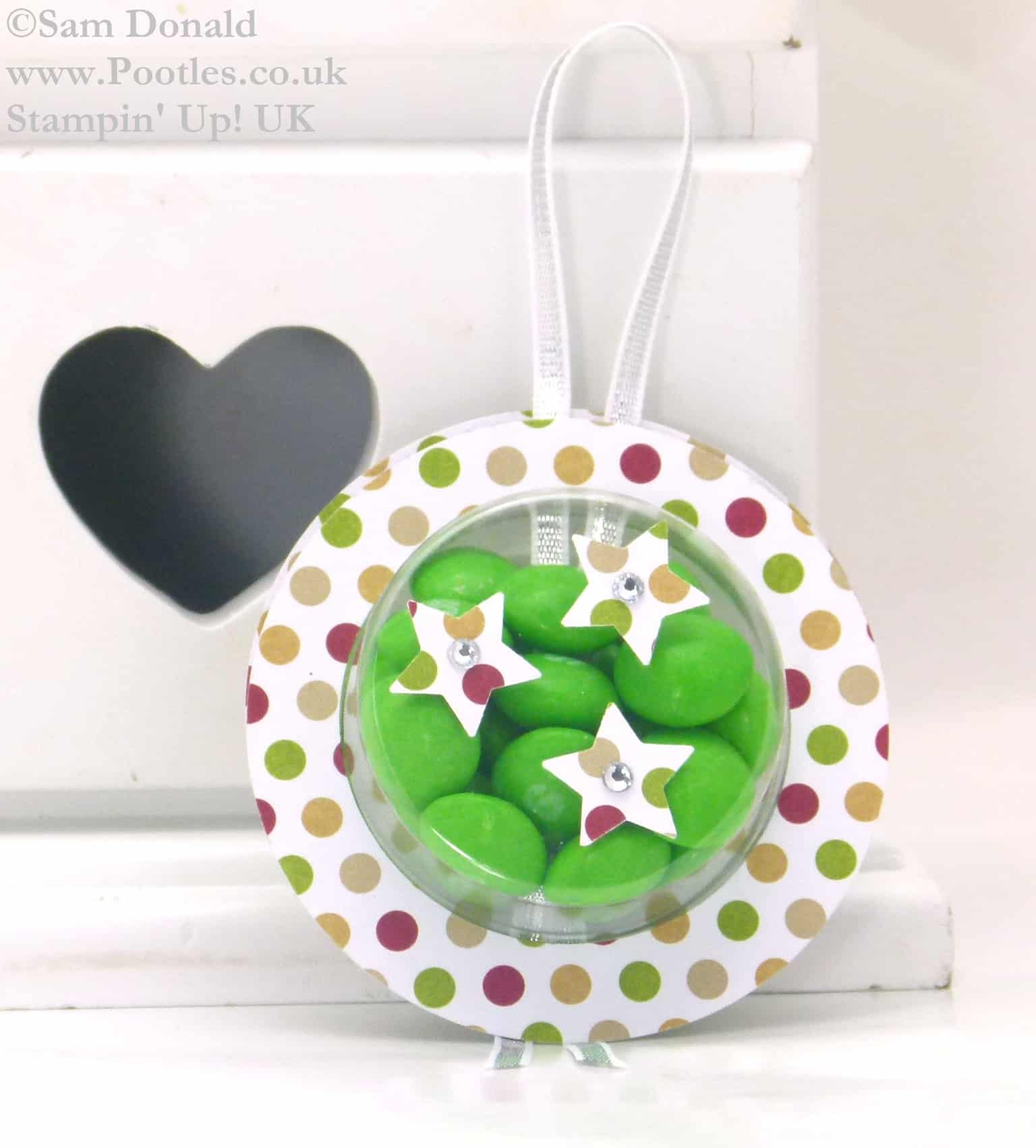 POOTLES Stampin Up UK ADVENT COUNTDOWN Sweetie Decorations Video Plus Bloopers..! 2
