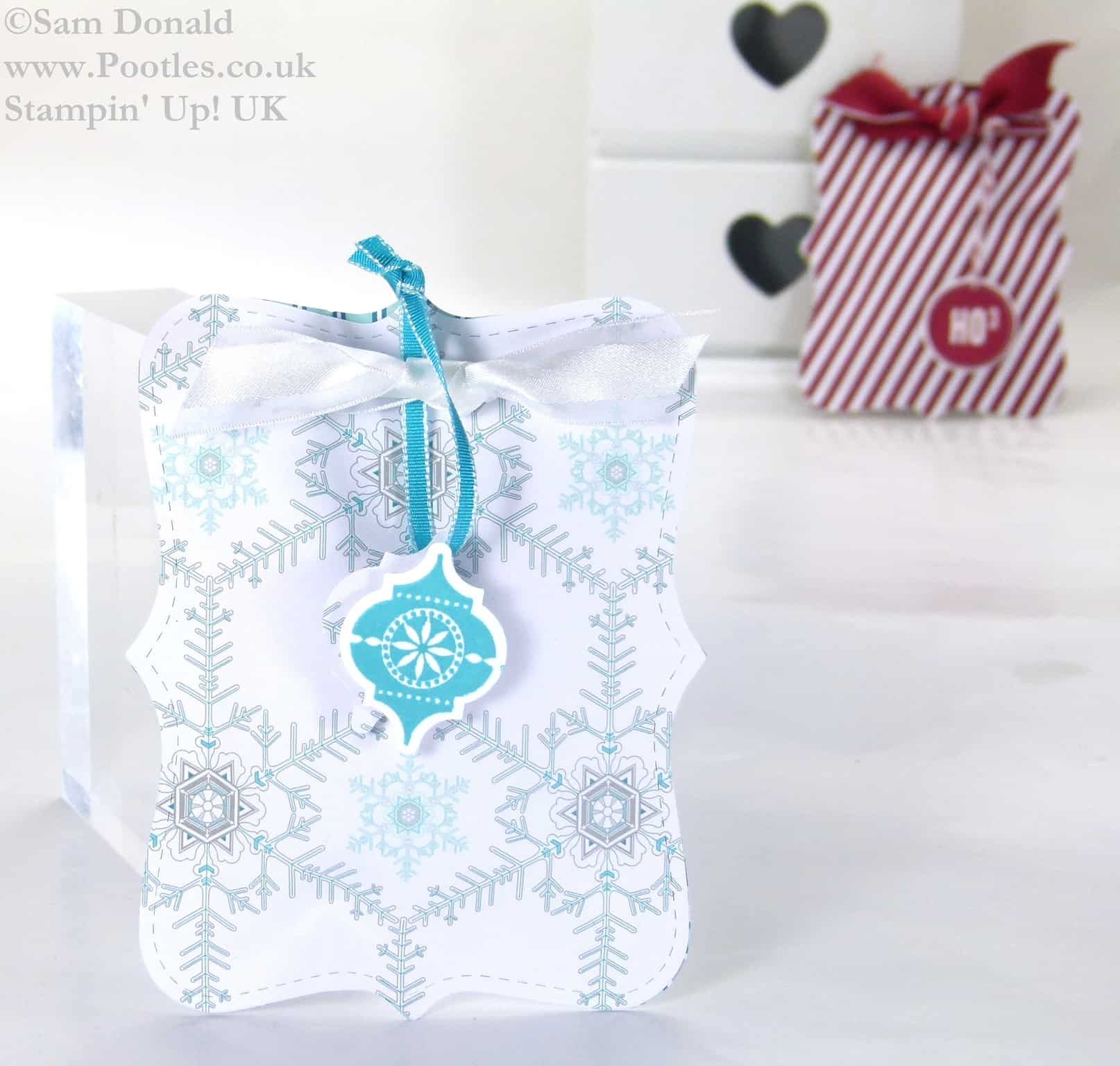 POOTLES Stampin Up UK ADVENT COUNTDOWN Top Note Sweetie Pouches 3