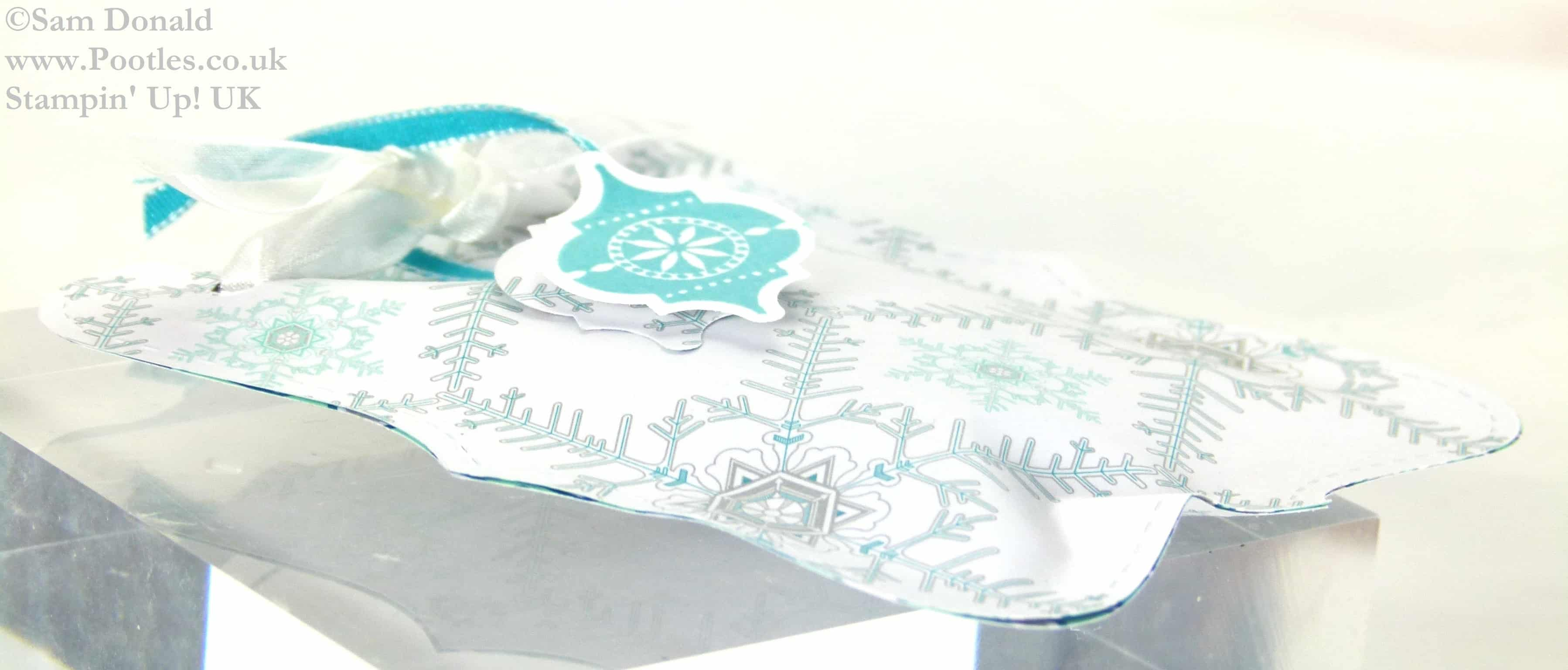 POOTLES Stampin Up UK ADVENT COUNTDOWN Top Note Sweetie Pouches