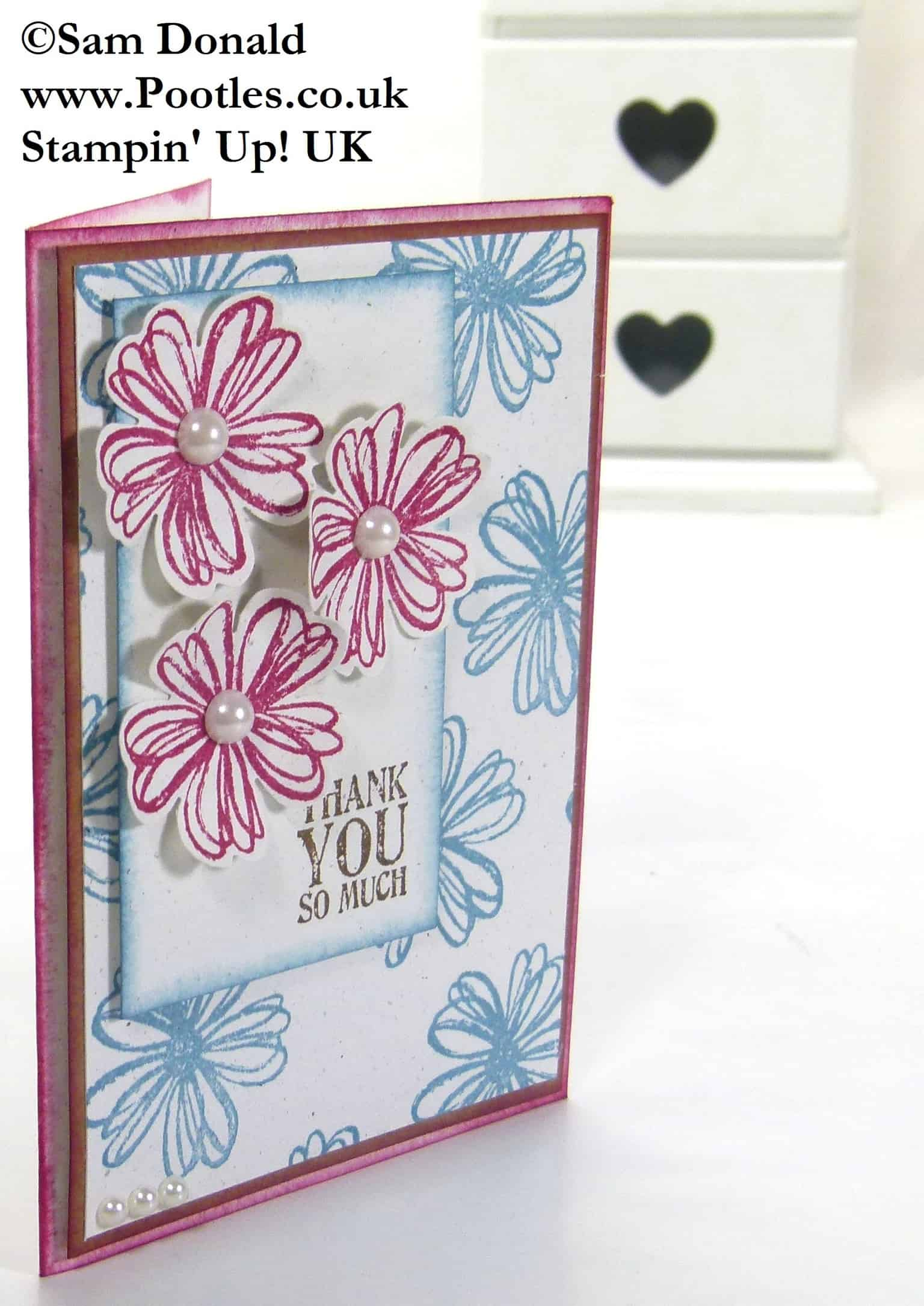 Pootles Stampin Up UK Flower Shop Showcase 2