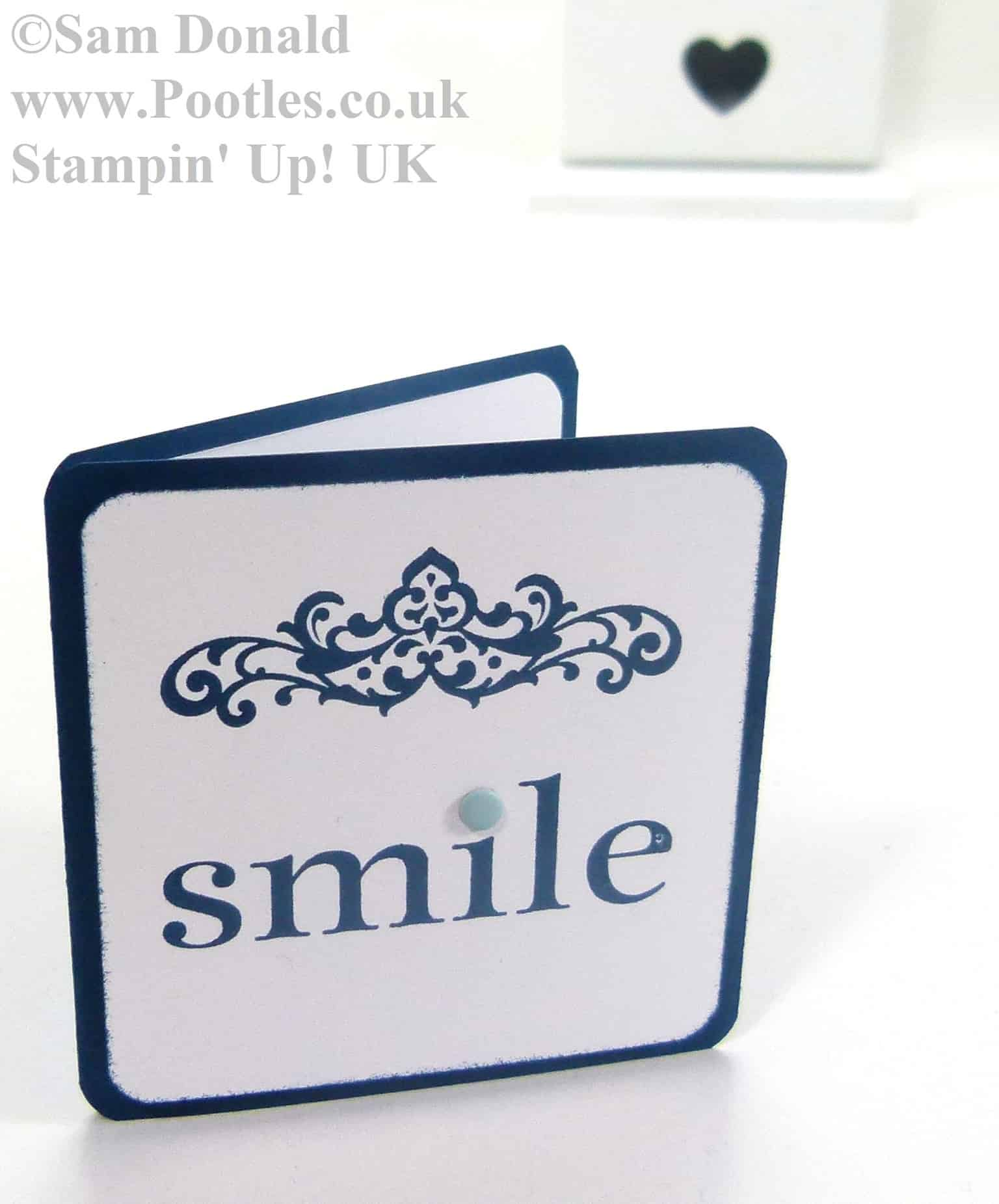 POOTLES Stampin Up UK Happy Days Smile 3