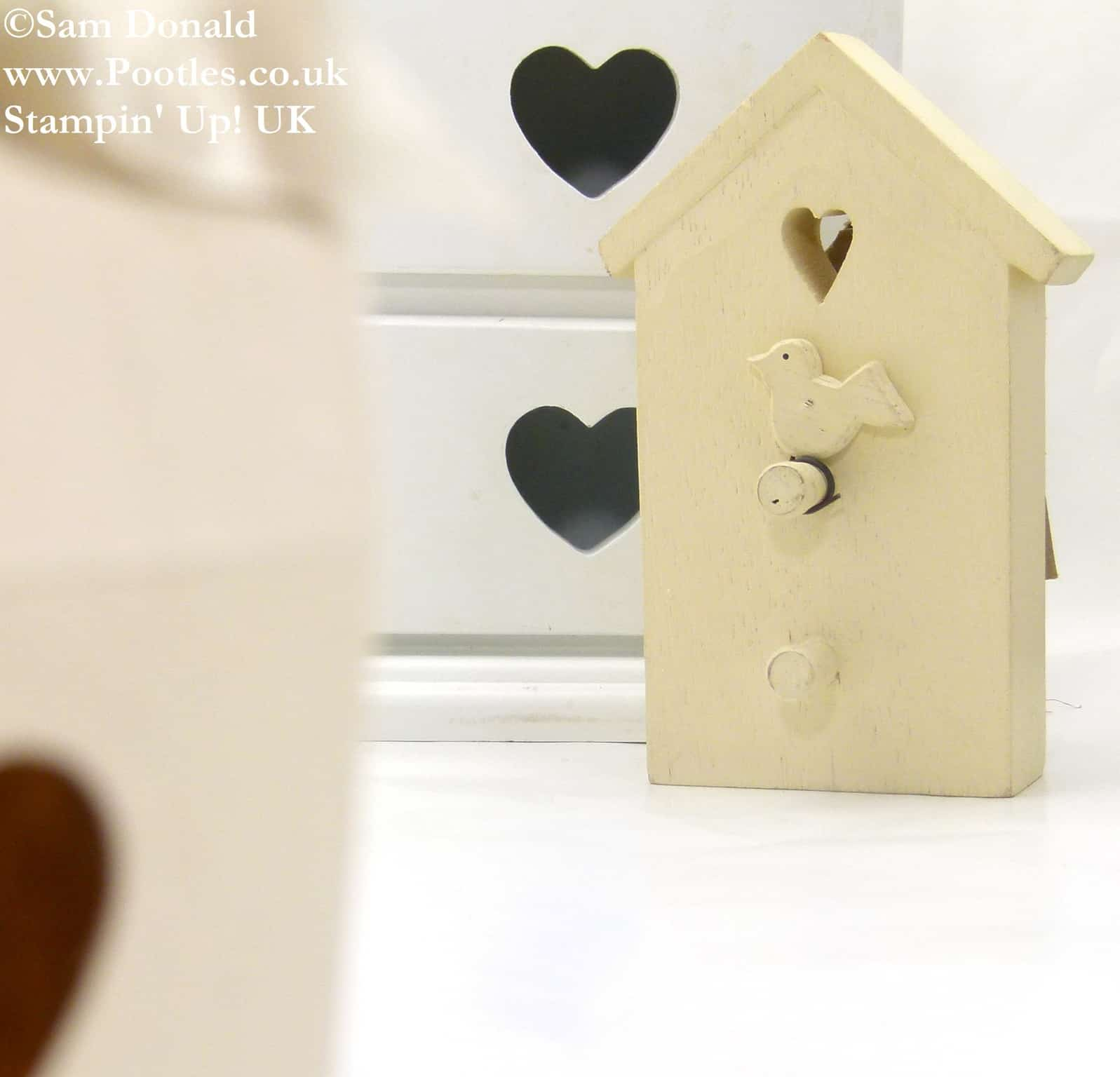 POOTLES Stampin Up UK Inspired Bird Gift Box Tutorial 3