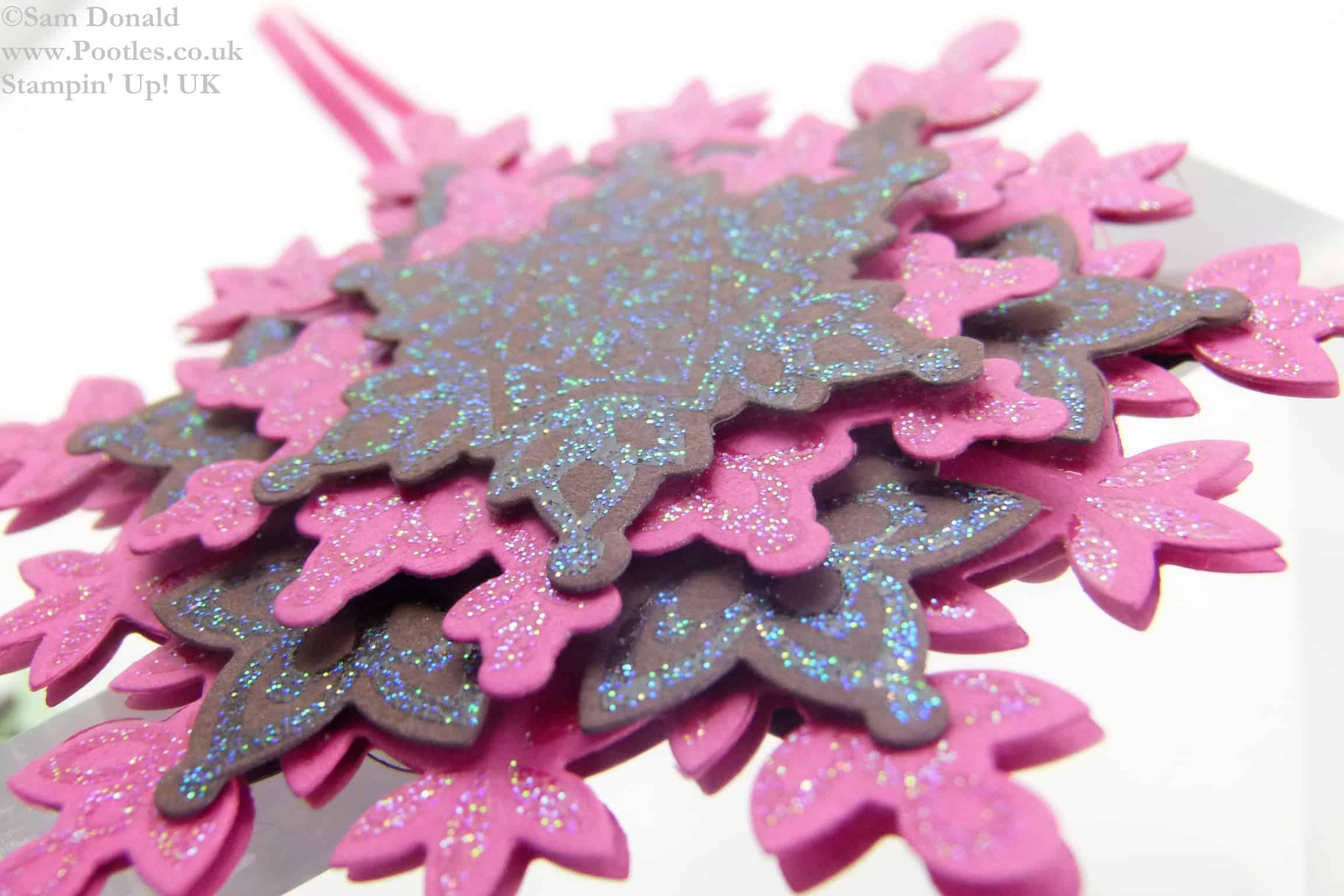 ADVENT COUNTDOWN 12 Festive Flurries Snowflakes