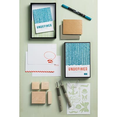 Undefined Stamp-Carving Kit
