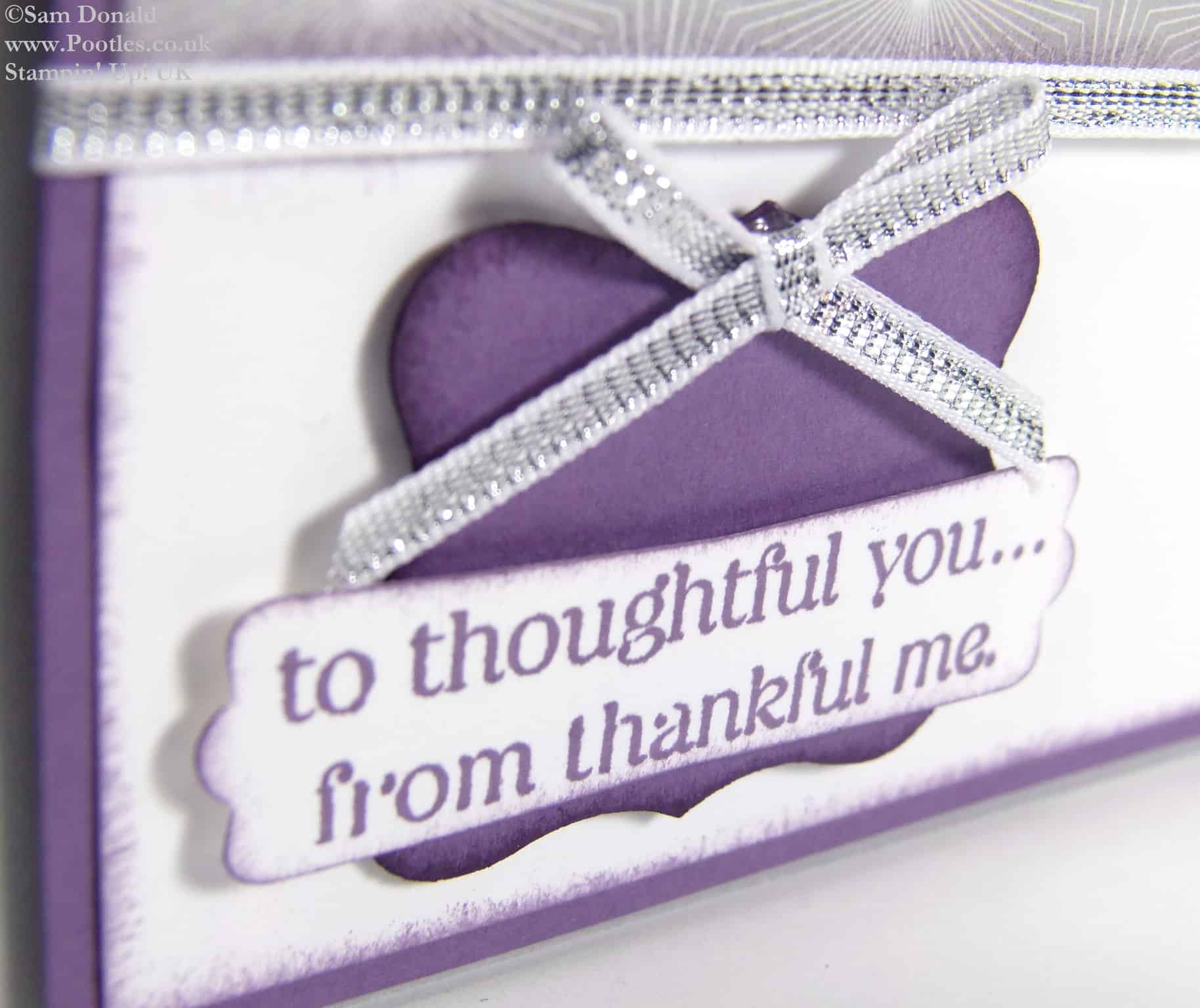 POOTLES Stampin Up UK A Thoughtful Perfect Thank You 2