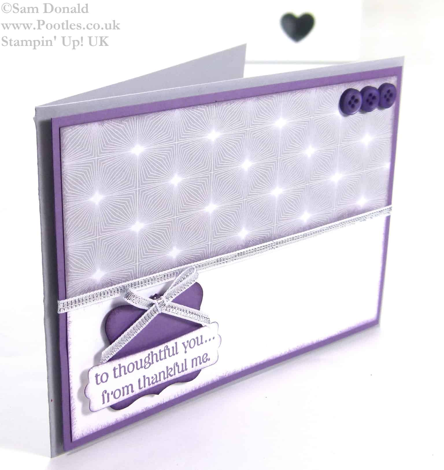 POOTLES Stampin Up UK A Thoughtful Perfect Thank You