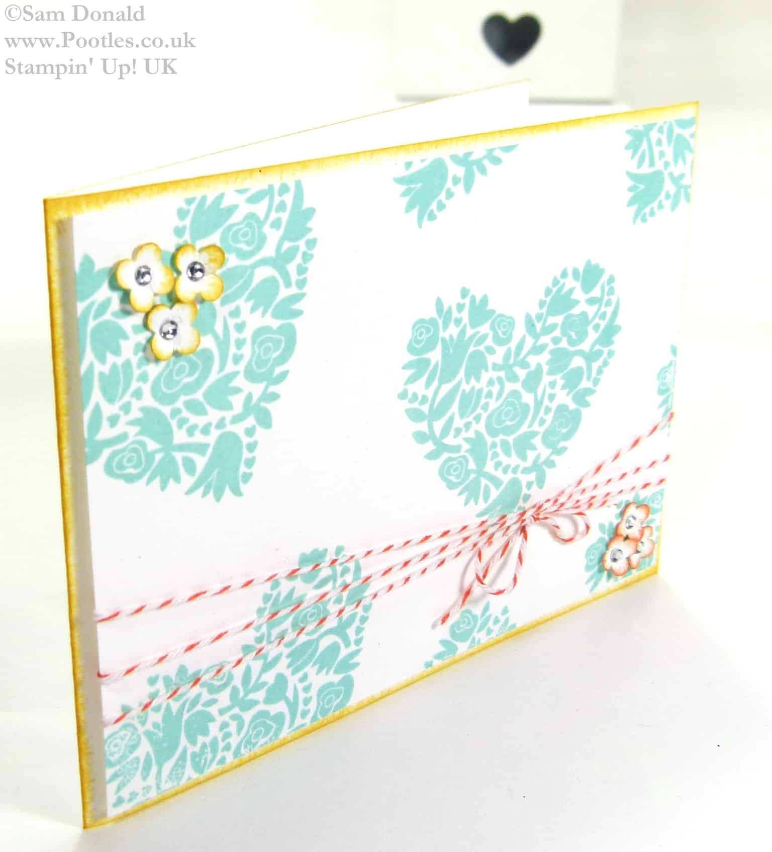 POOTLES Stampin Up UK Around the World Stampin Up Challenge AW07 3