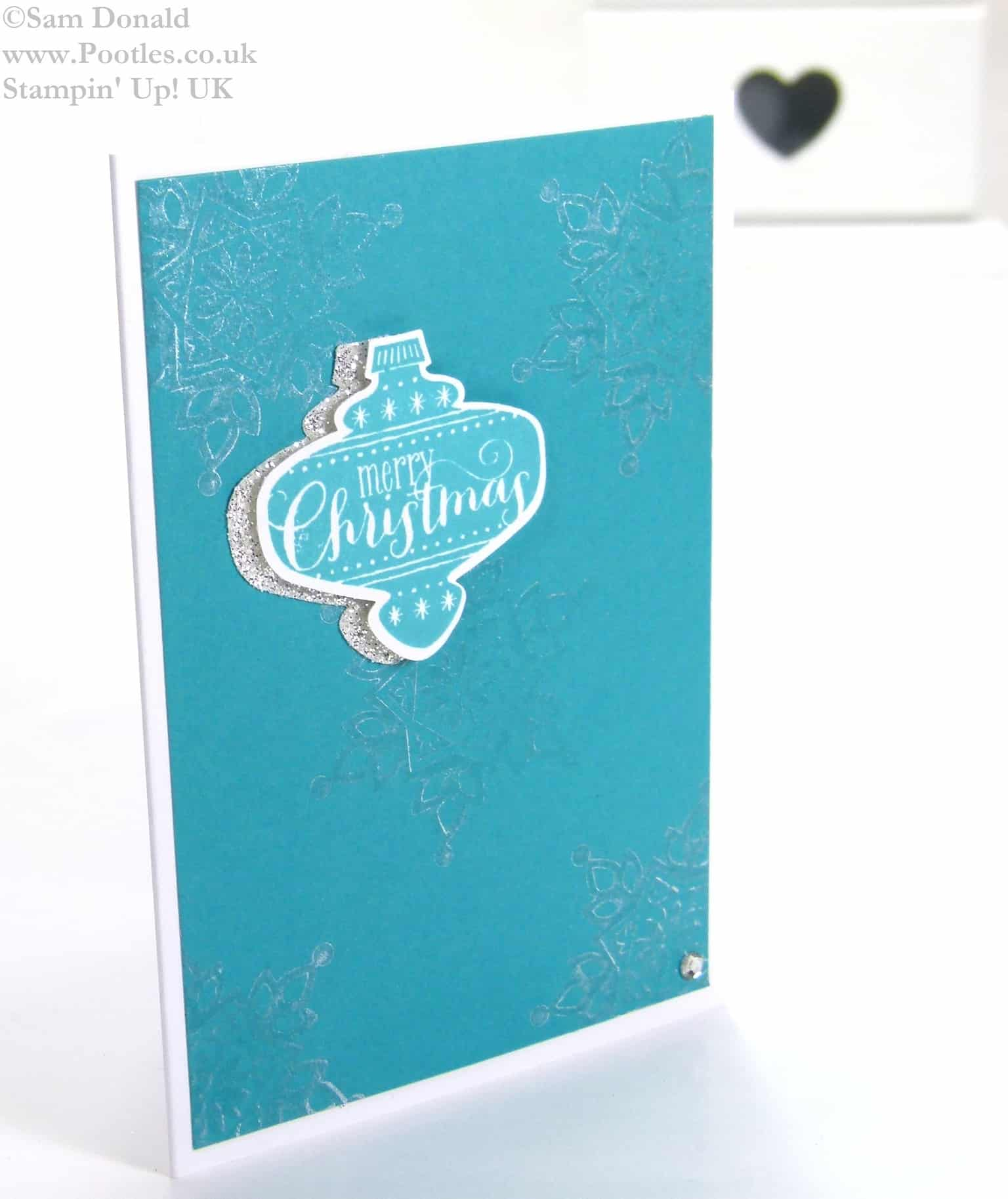 POOTLES Stampin Up UK Customer Christmas Cards 4