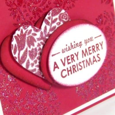 Flowerfull Christmas Heart