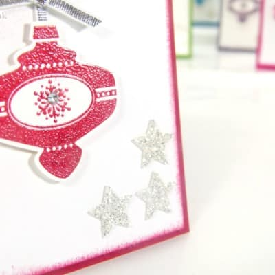 Mini Retro Multicoloured Christmas Collectibles