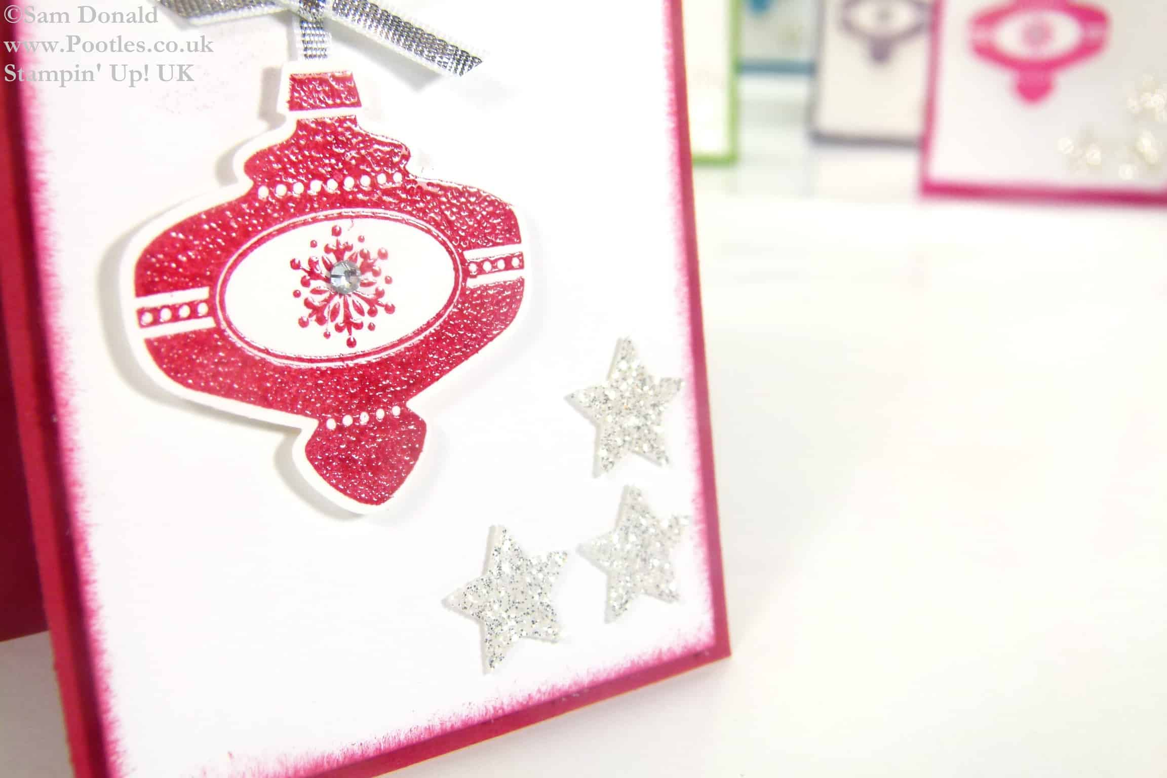 Pootles Stampin Up UK Mini Retro Multicoloured Christmas Collectibles 2