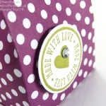 Pootles' Brights Week Polka Dot Parade 6 bags from one sheet DSP
