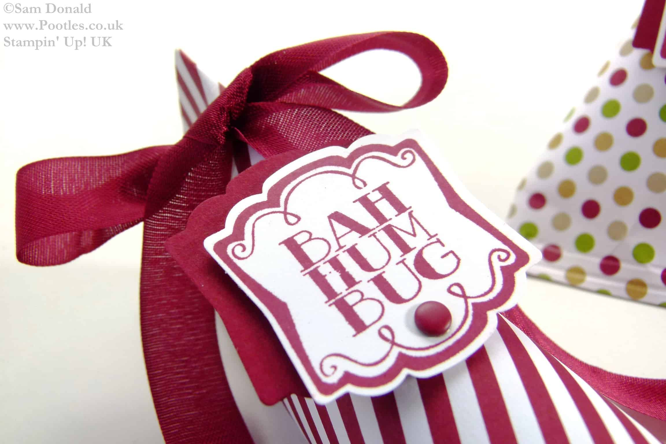 Stampin Up UK ADVENT COUNTDOWN 22 Elongated Sweetie Treat Pouches 2