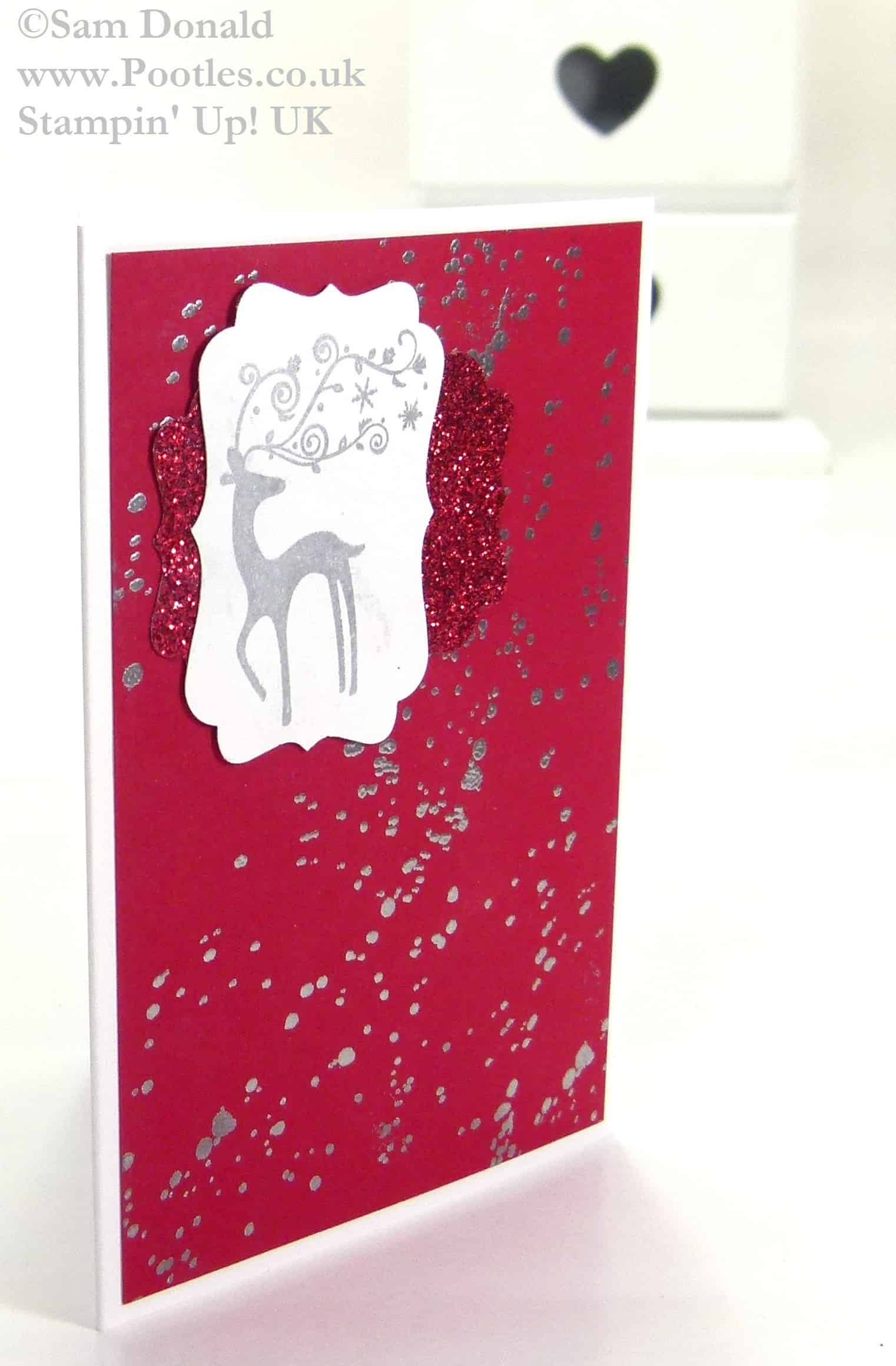 Stampin Up UK Best of Christmas Sparkle 3