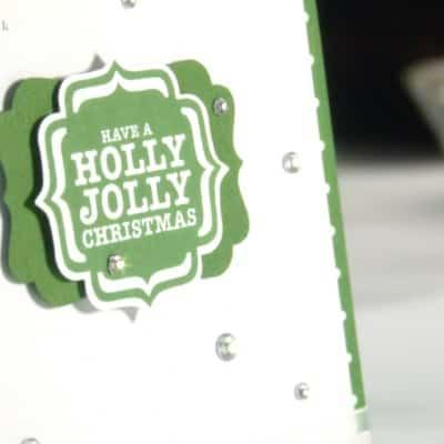 Garden Green Jolly Holly Christmas!