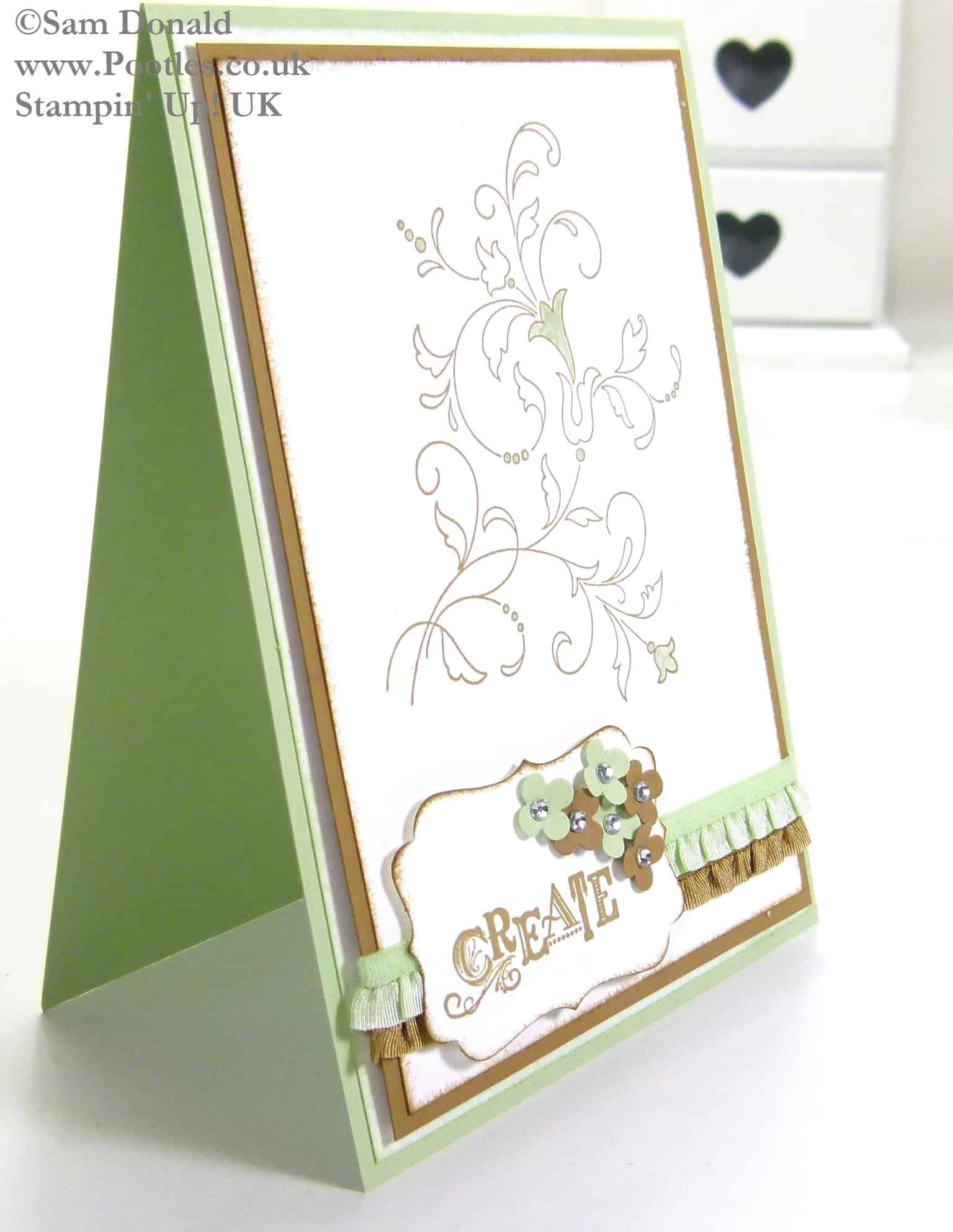 POOTLES Stampin Up UK Creative Elements take on the In Colours 3