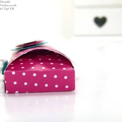 Envelope Punch Board Domed Treat Pouch