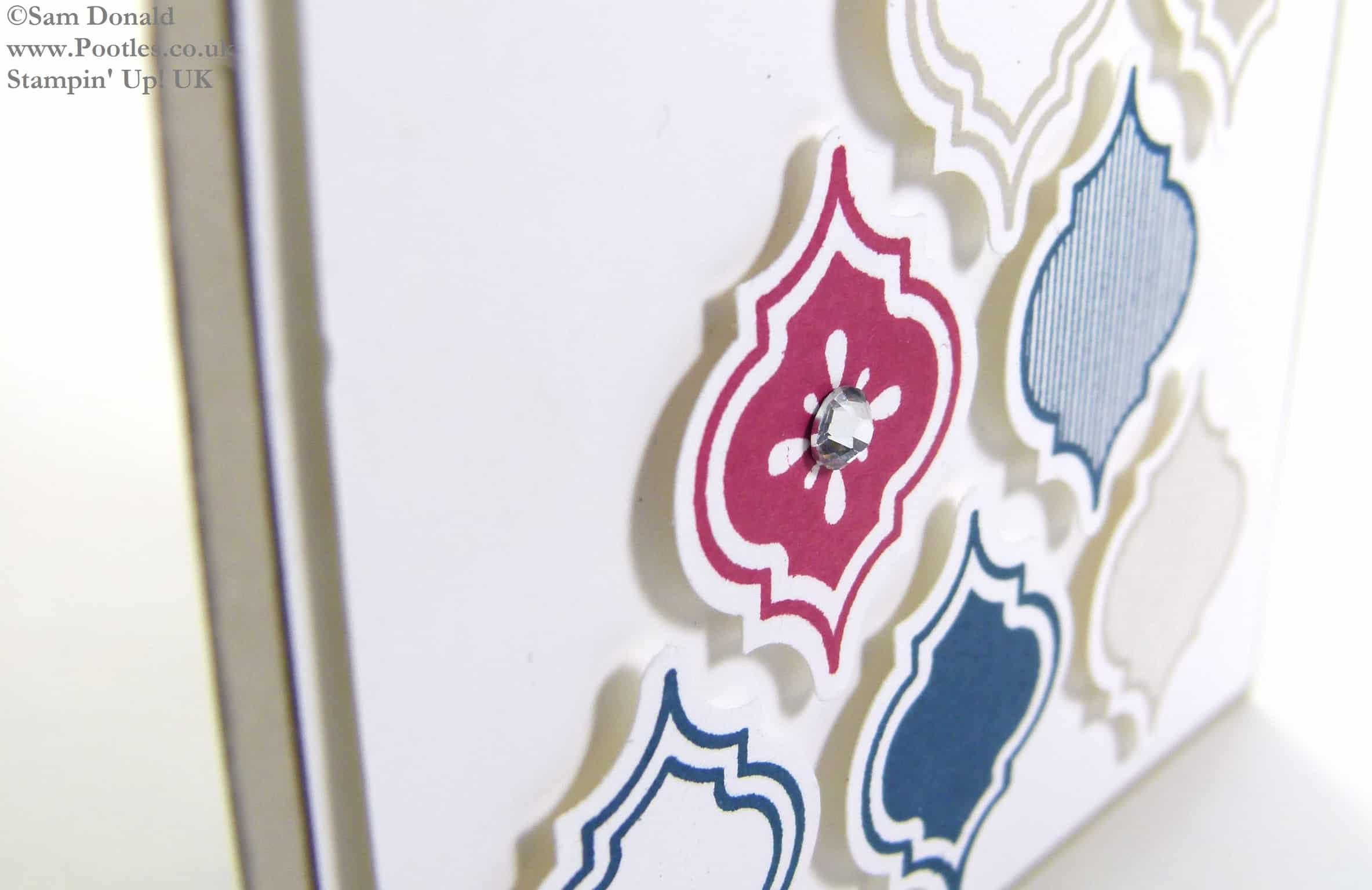 POOTLES Stampin Up UK Modern Mosaic In Colour