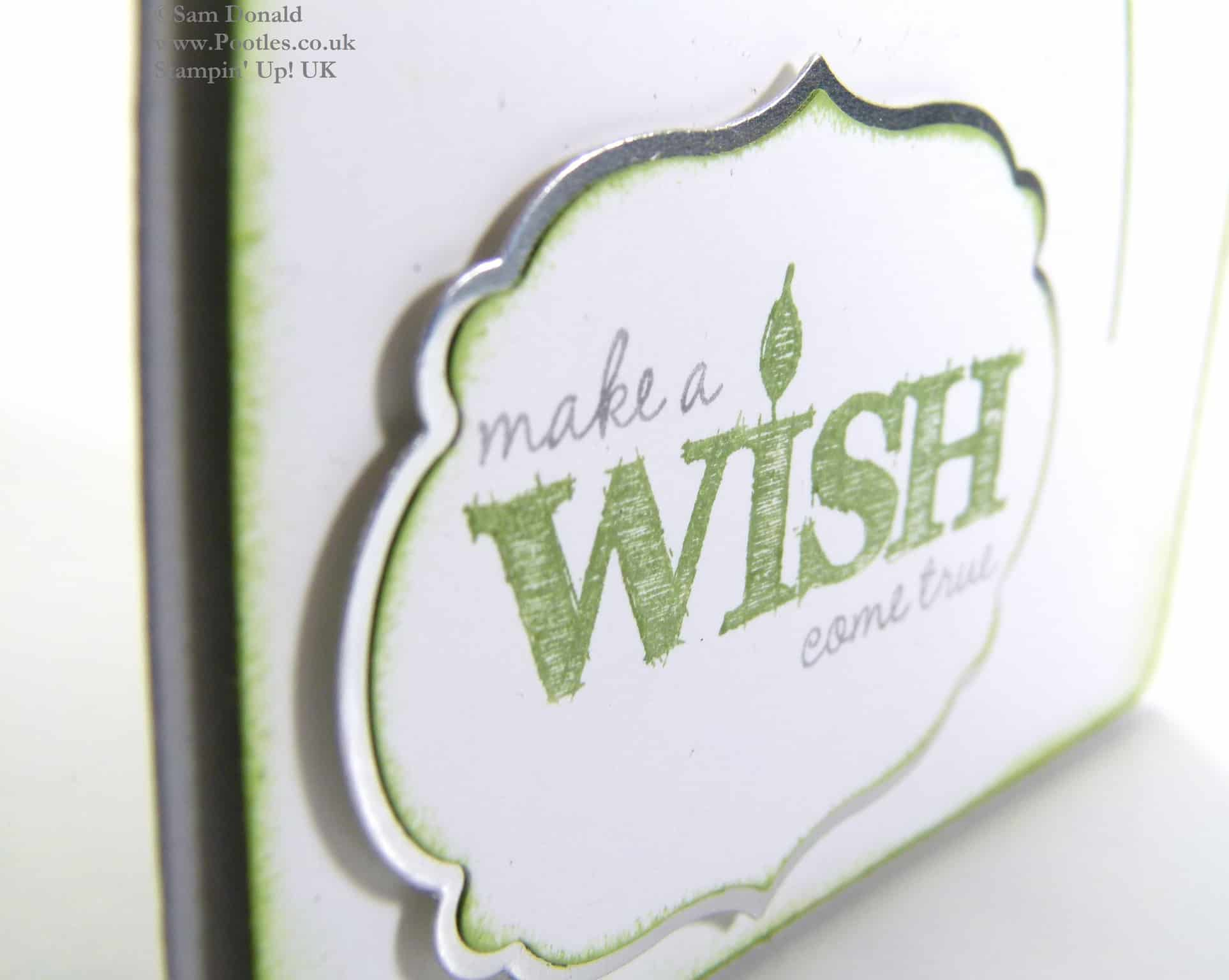 POOTLES Stampin Up UK Serene Silhouettes Make a Wish 2