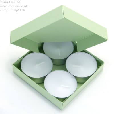 Pootles' SPRINGWATCH Diamond Opening Tea Light Box