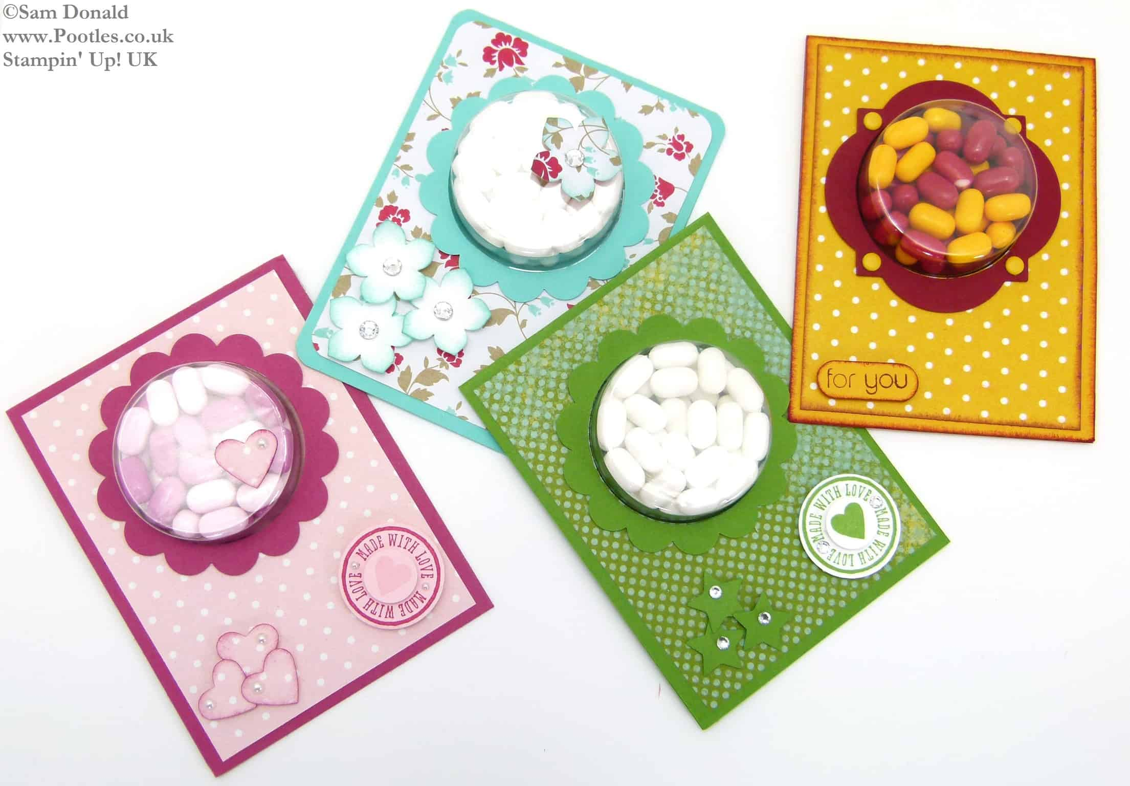 POOTLES Stampin Up UK Tic Tac Sweetie Treat Holder Tutorial 6