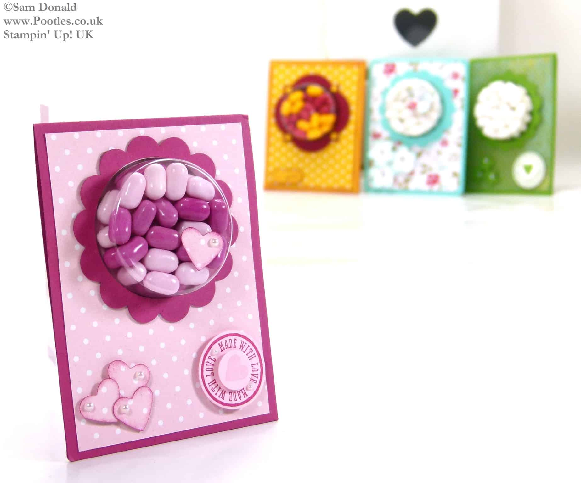POOTLES Stampin Up UK Tic Tac Sweetie Treat Holder Tutorial 7